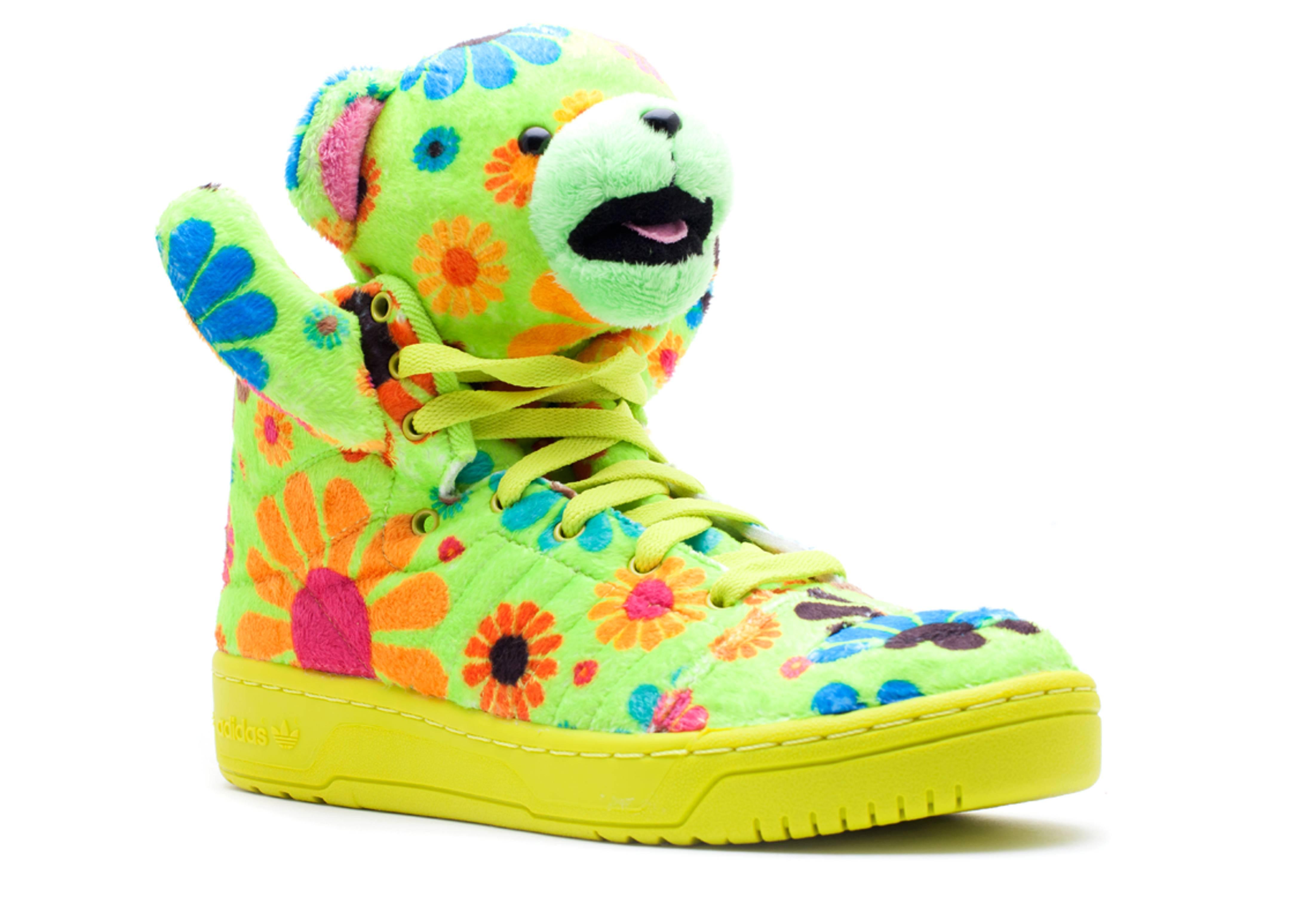 adidas js bear jeremy scott flower power