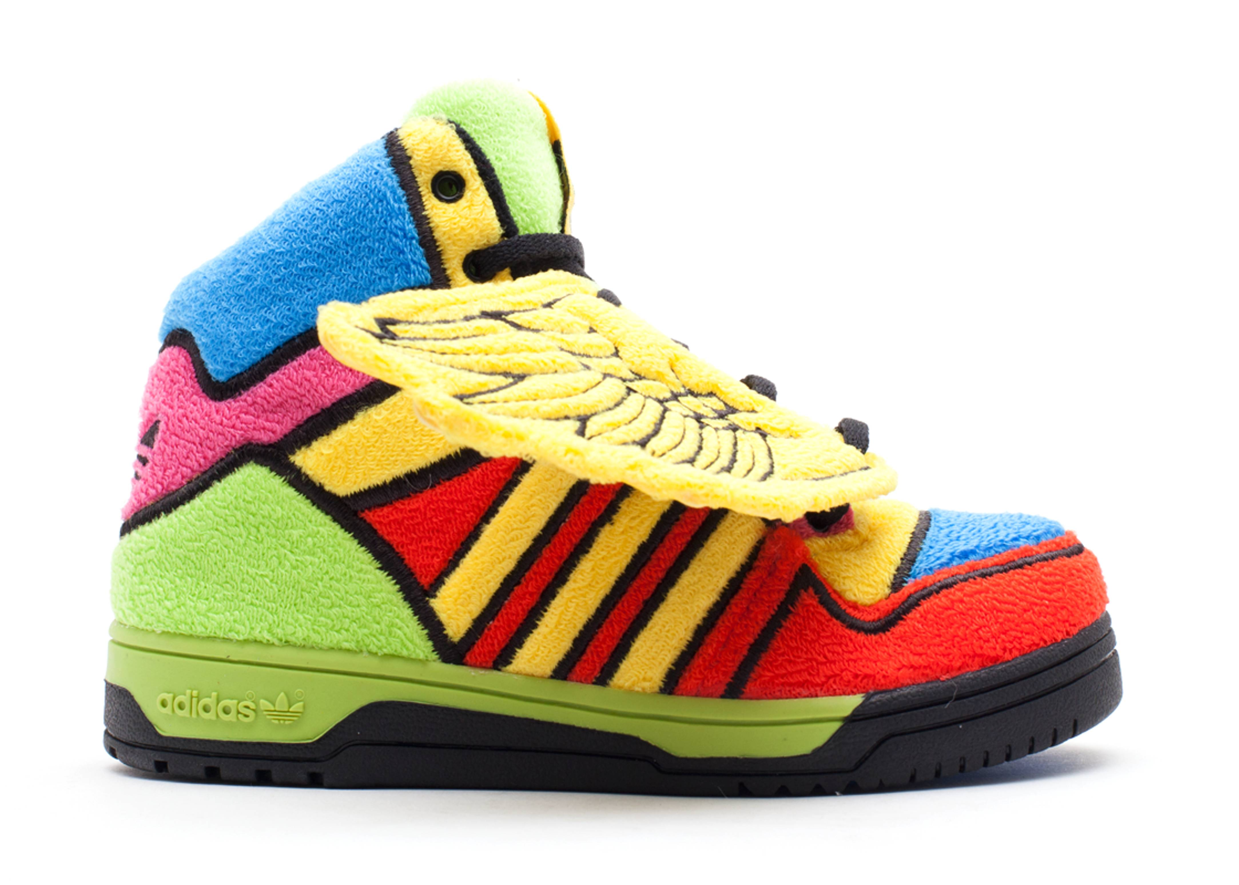 "js wings 1 ""jeremy scott rainbow"""