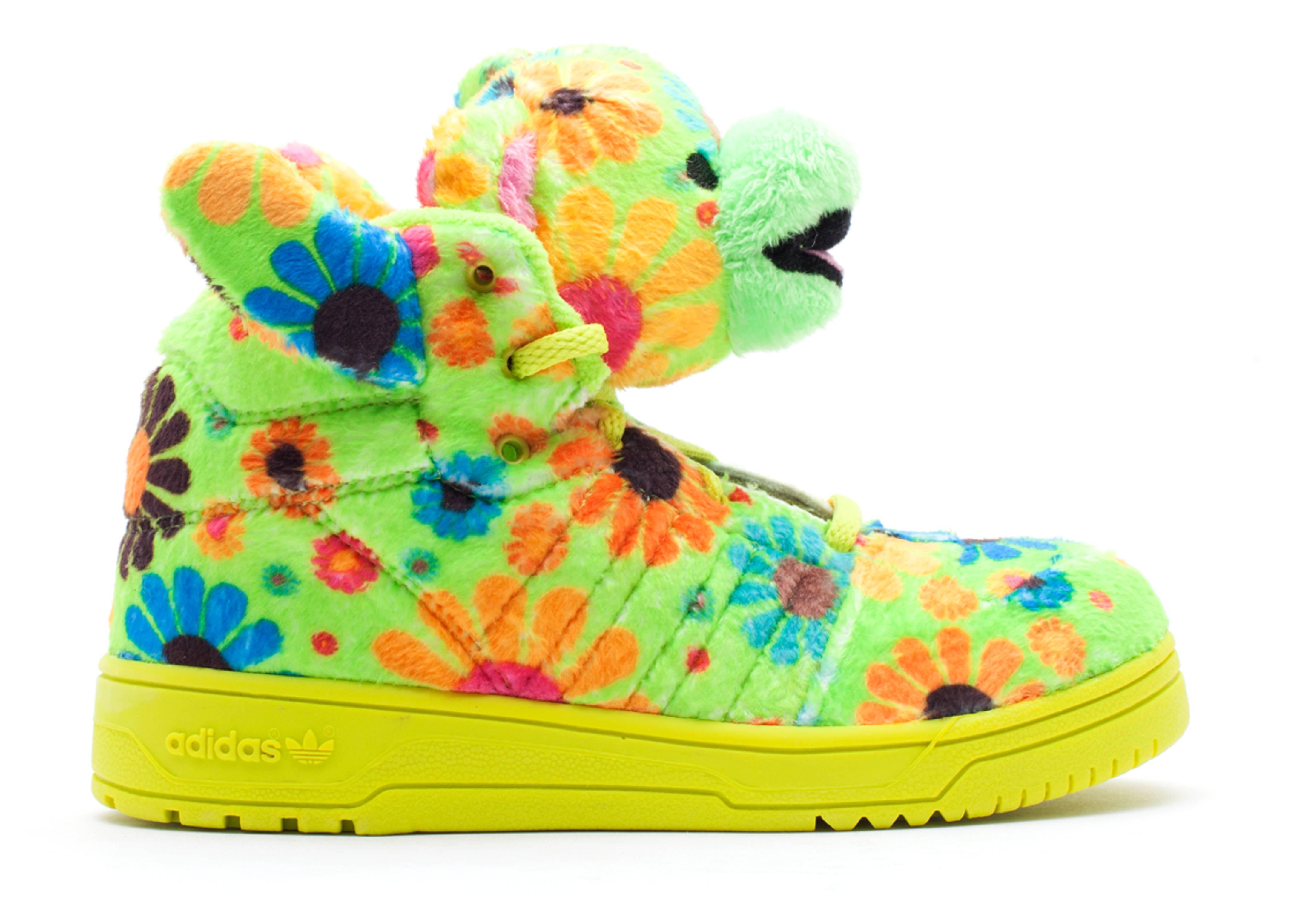"""js bear 1 """"jeremy scott flower power"""""""