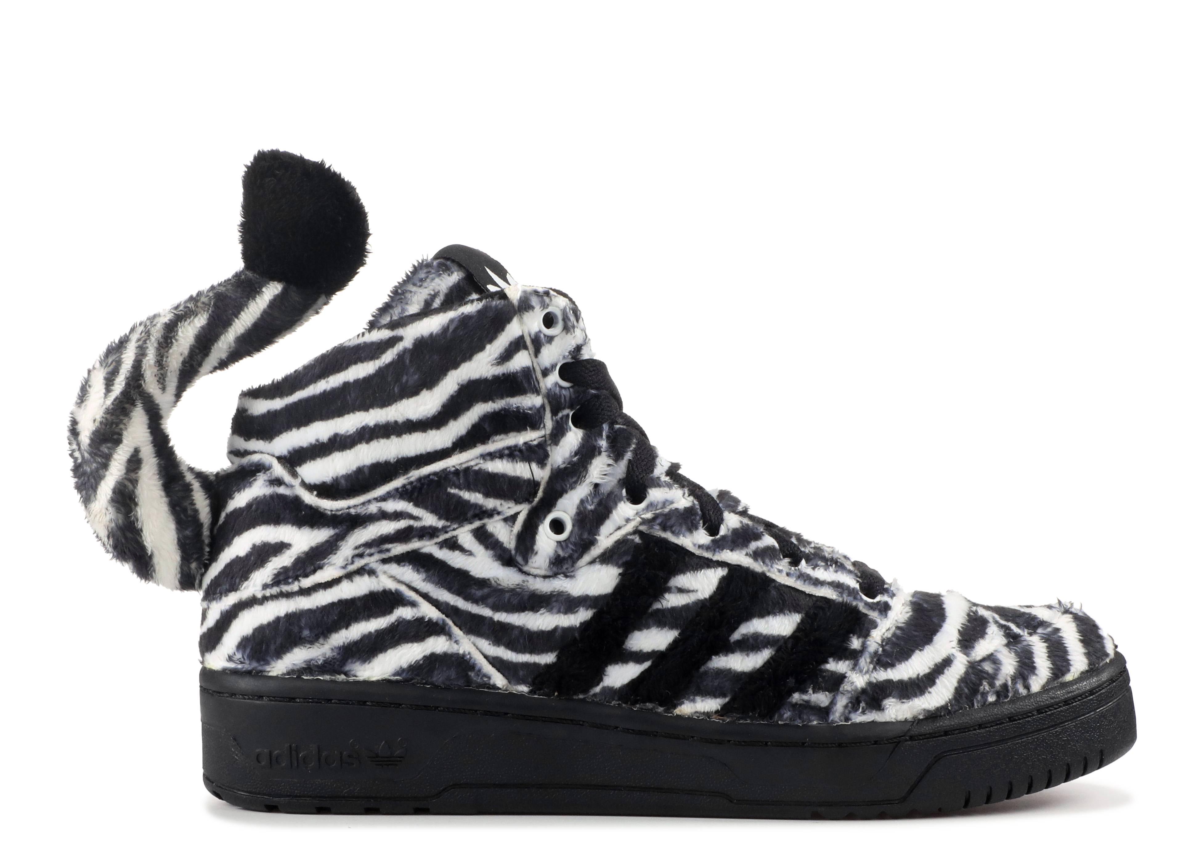 Js zebra adidas g95749 nero1 / runwht / blk1 volo club