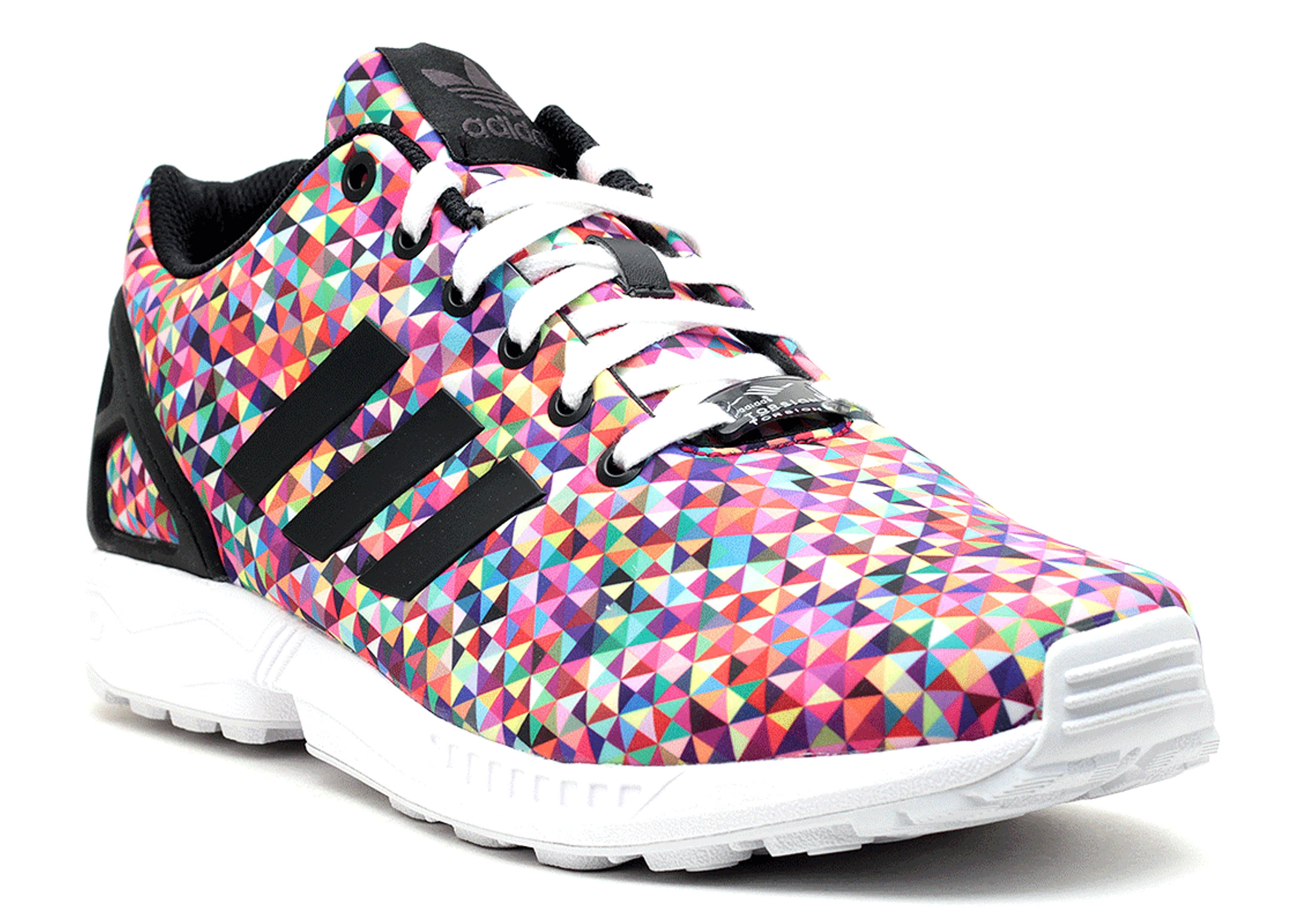 adidas zx flux multicolore