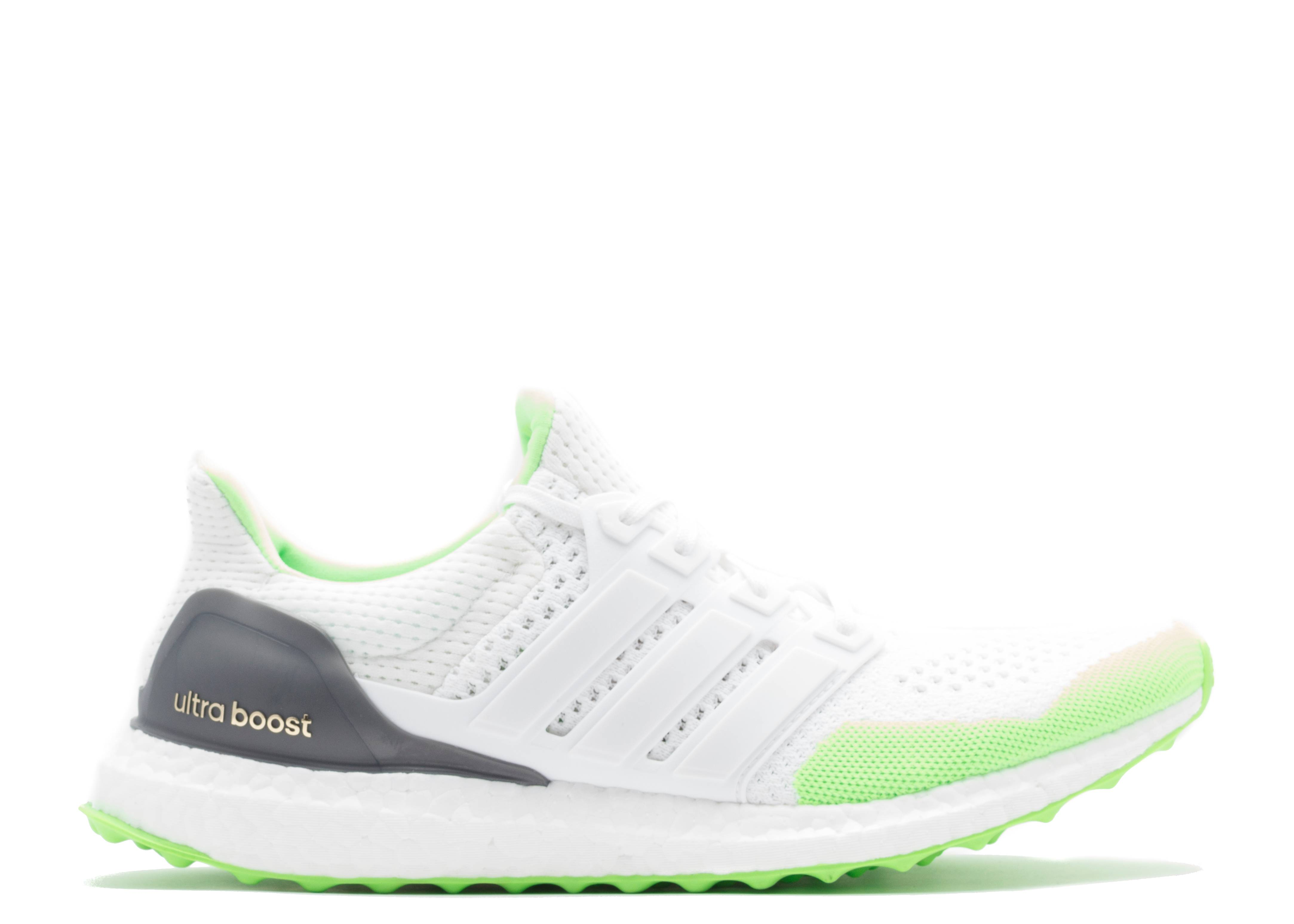 56c3db424 Ultra Boost Kolor - Adidas - s77419 - solar green white