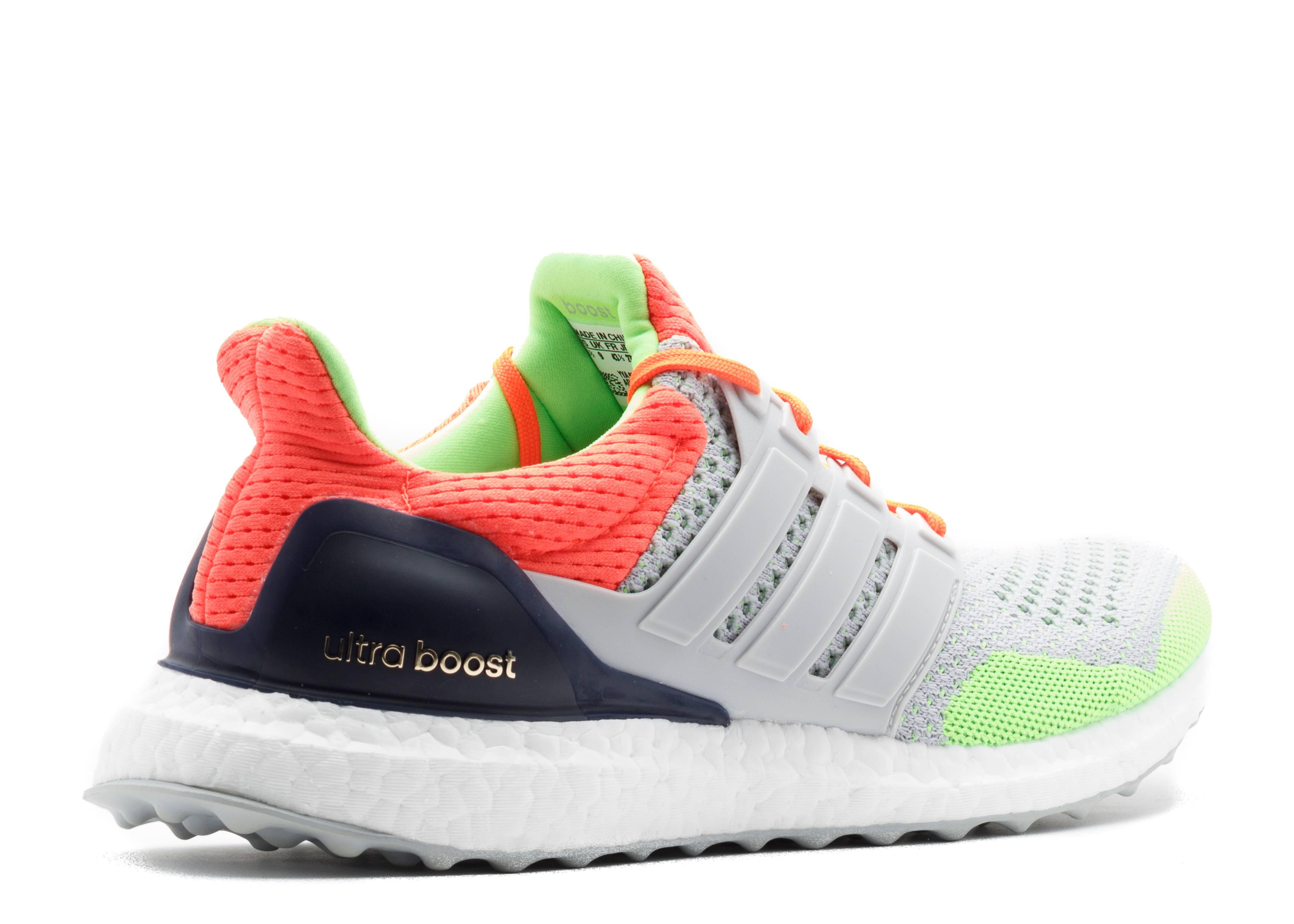 64320c03d Ultra Boost Kolor - Adidas - af6219 - solar orange grey
