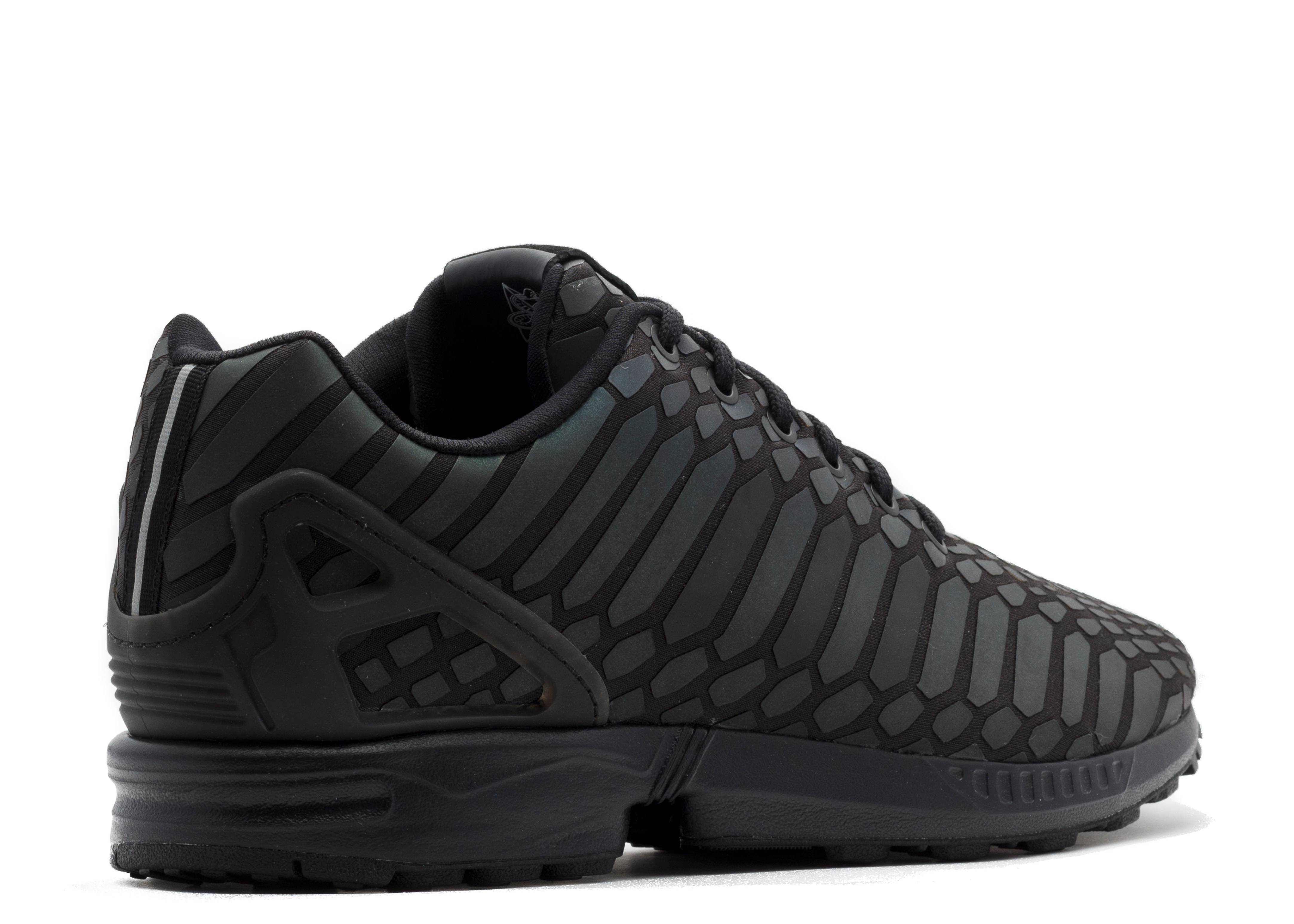 zx flux adidas aq7418 supcol cblack cblack flight club. Black Bedroom Furniture Sets. Home Design Ideas
