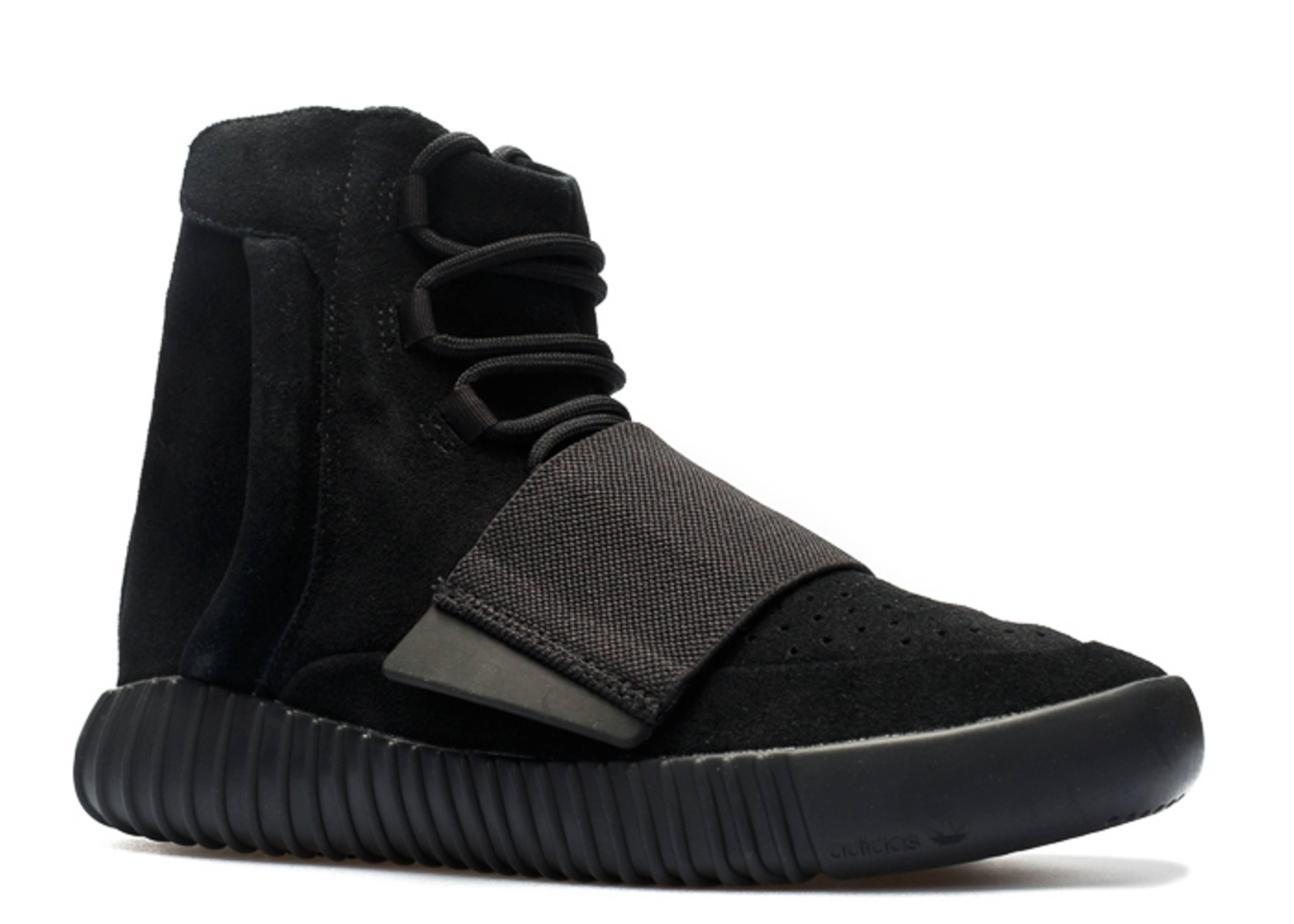 Tanzania grano Disipar  Adidas Yeezy 750 Boost Black SneakerNews com