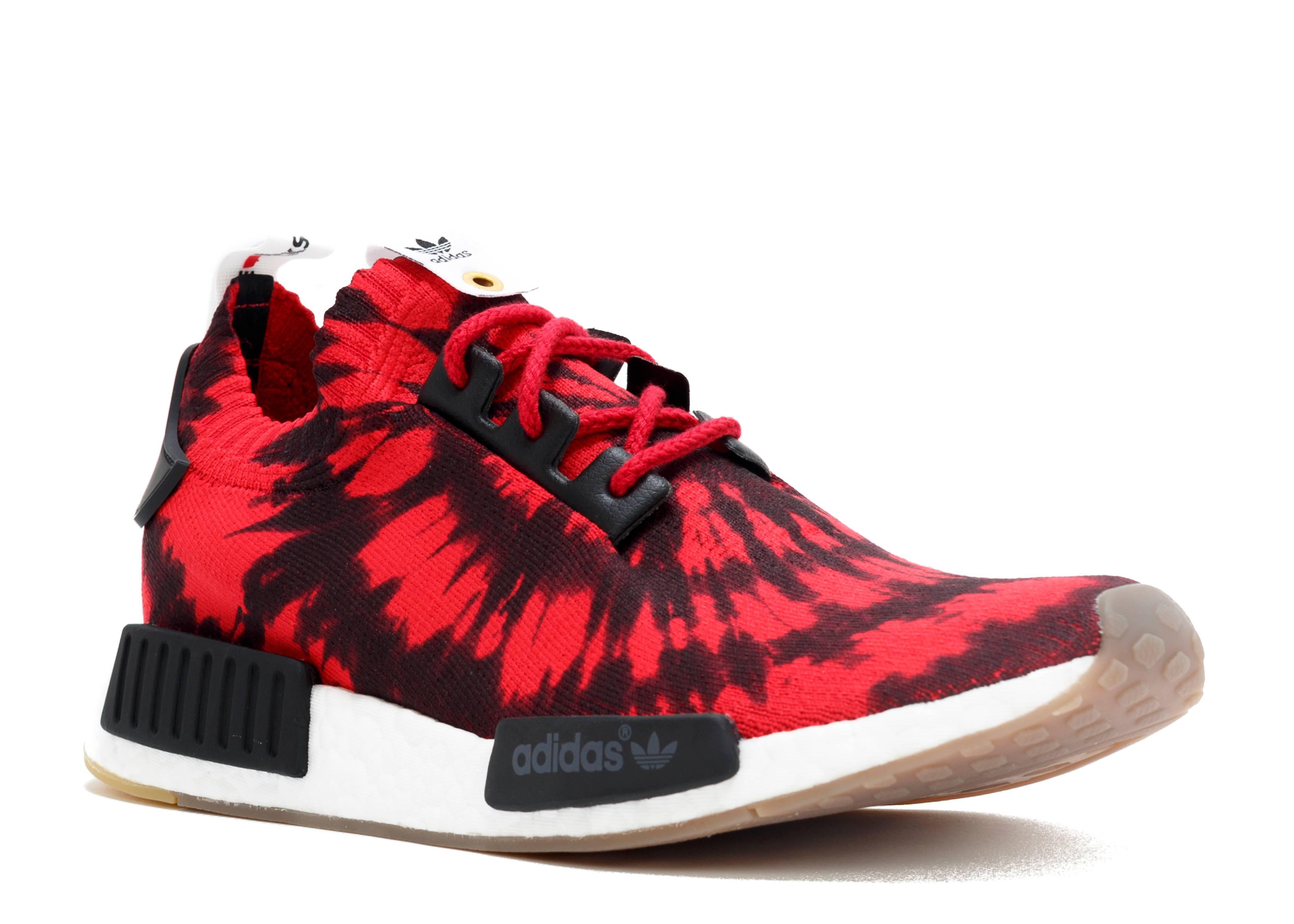 Nice Kicks X Nmd Runner Pk Red White Adidas Aq4791 Red