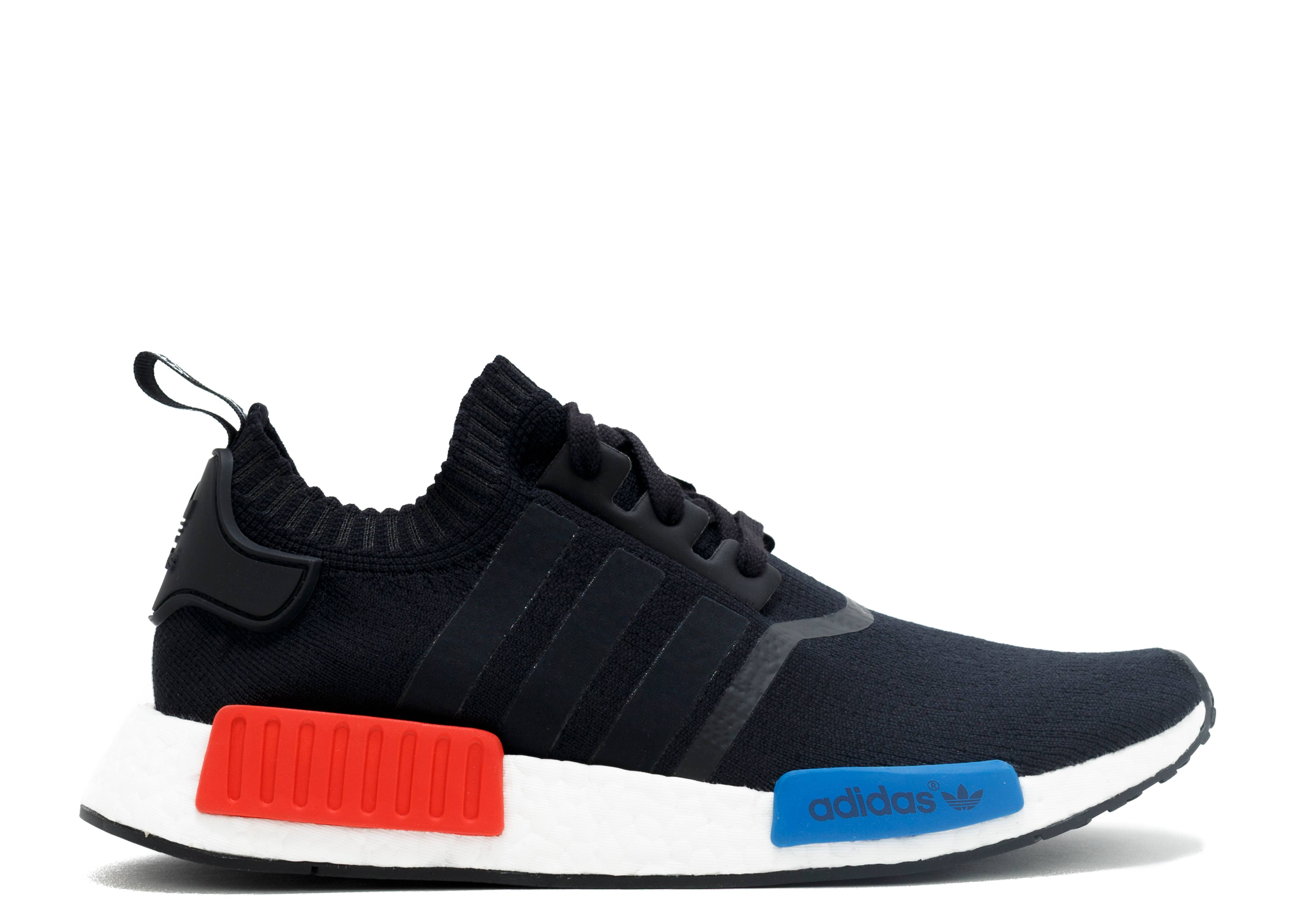 Adidas NMD R1 FOOTLOCKER Exclusive Rainbow Black Blue Red