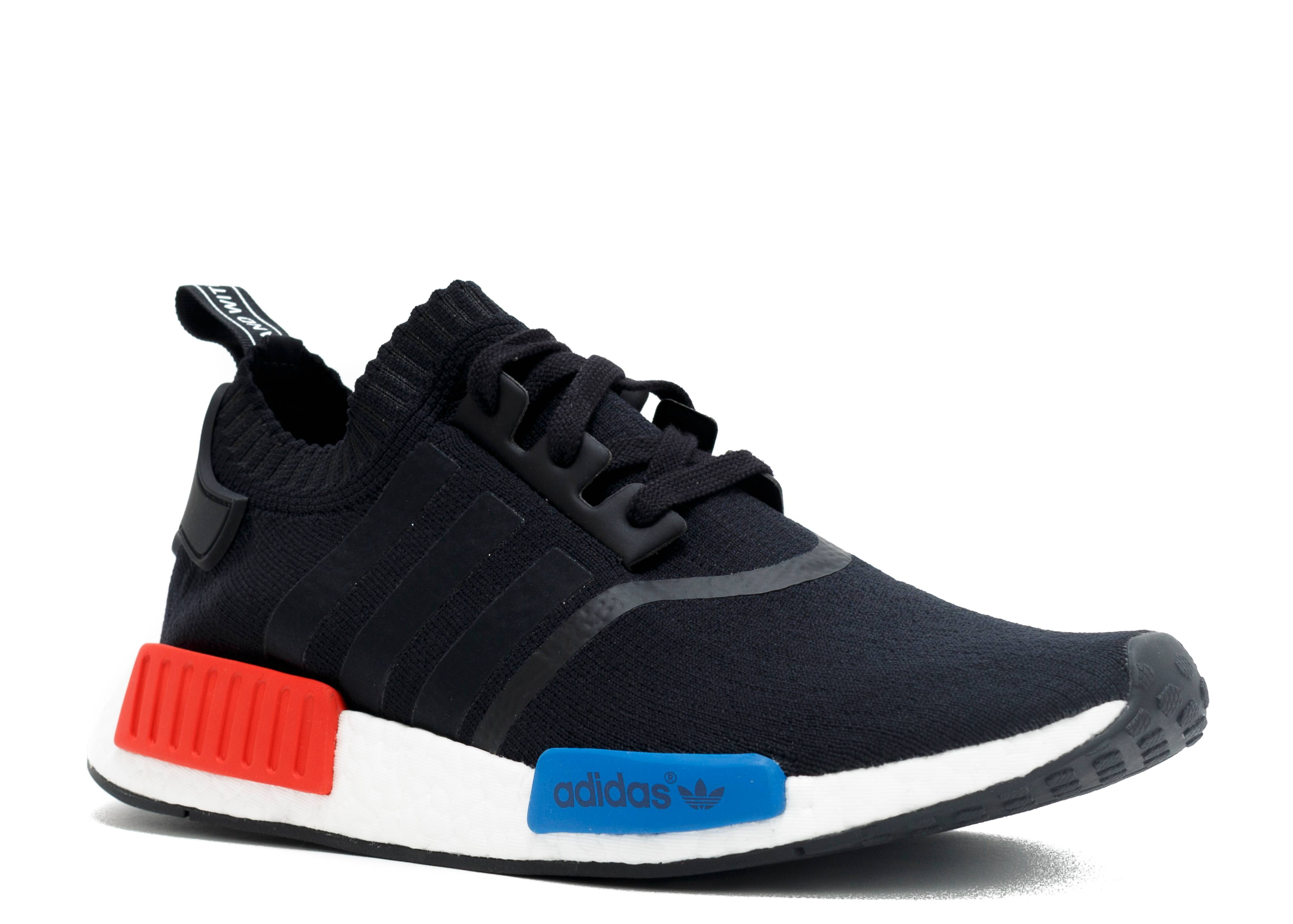 Adidas Shoes Nmd Red Black
