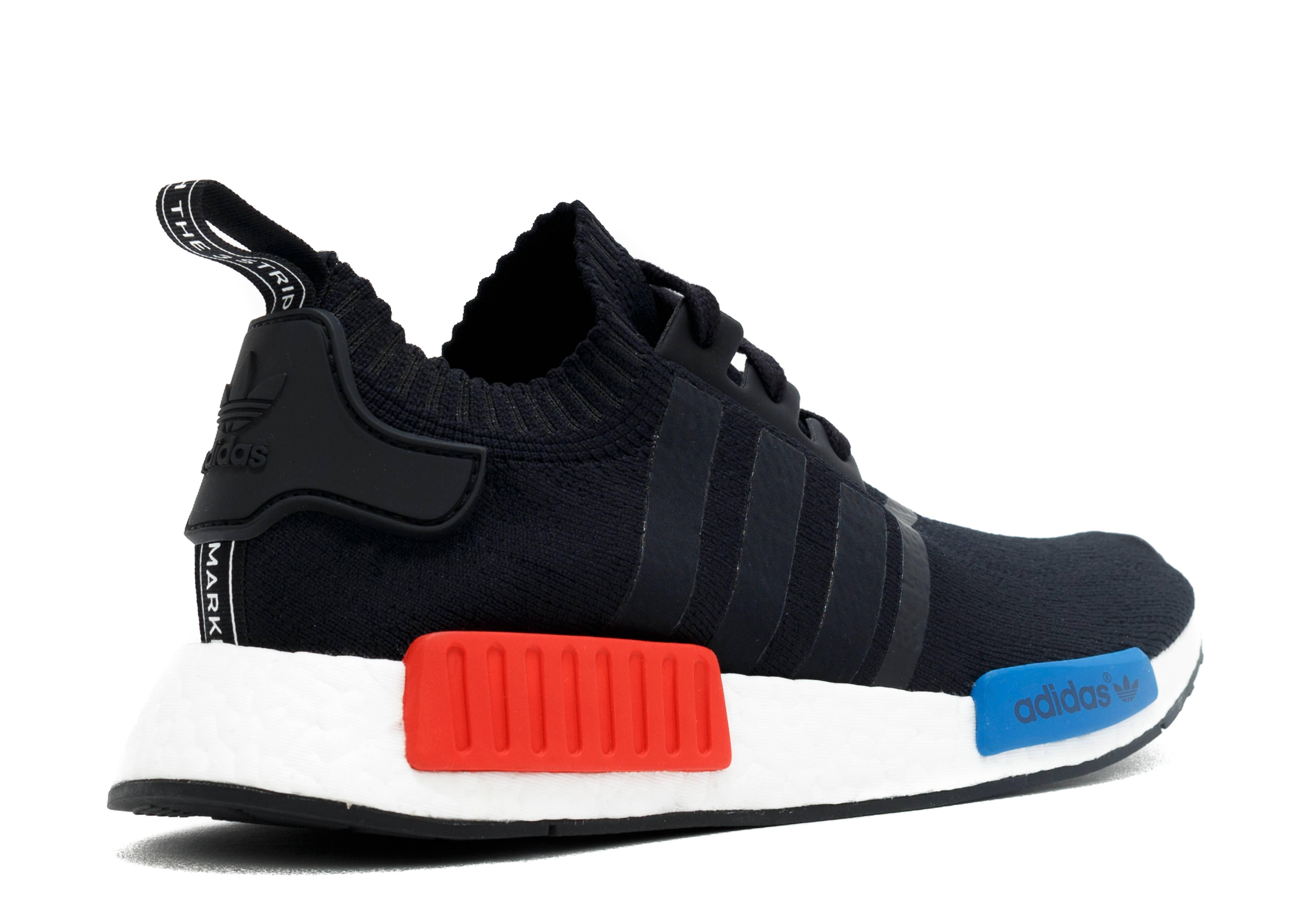 Nmd Runner Pk Adidas s79168a blackwhite rd blu