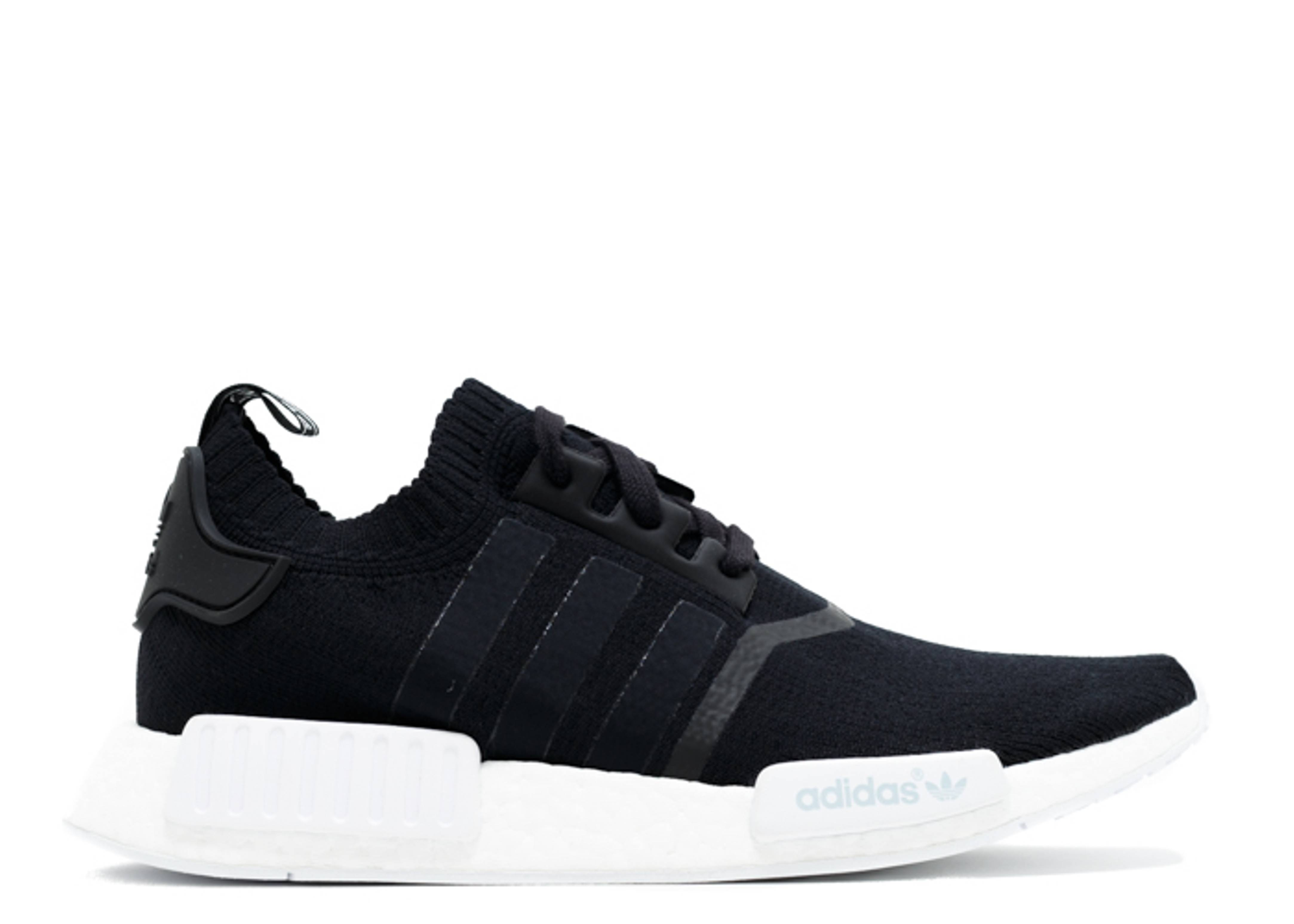Where to Cop the adidas NMD R1 Primeknit Tri Color in 'Core Black