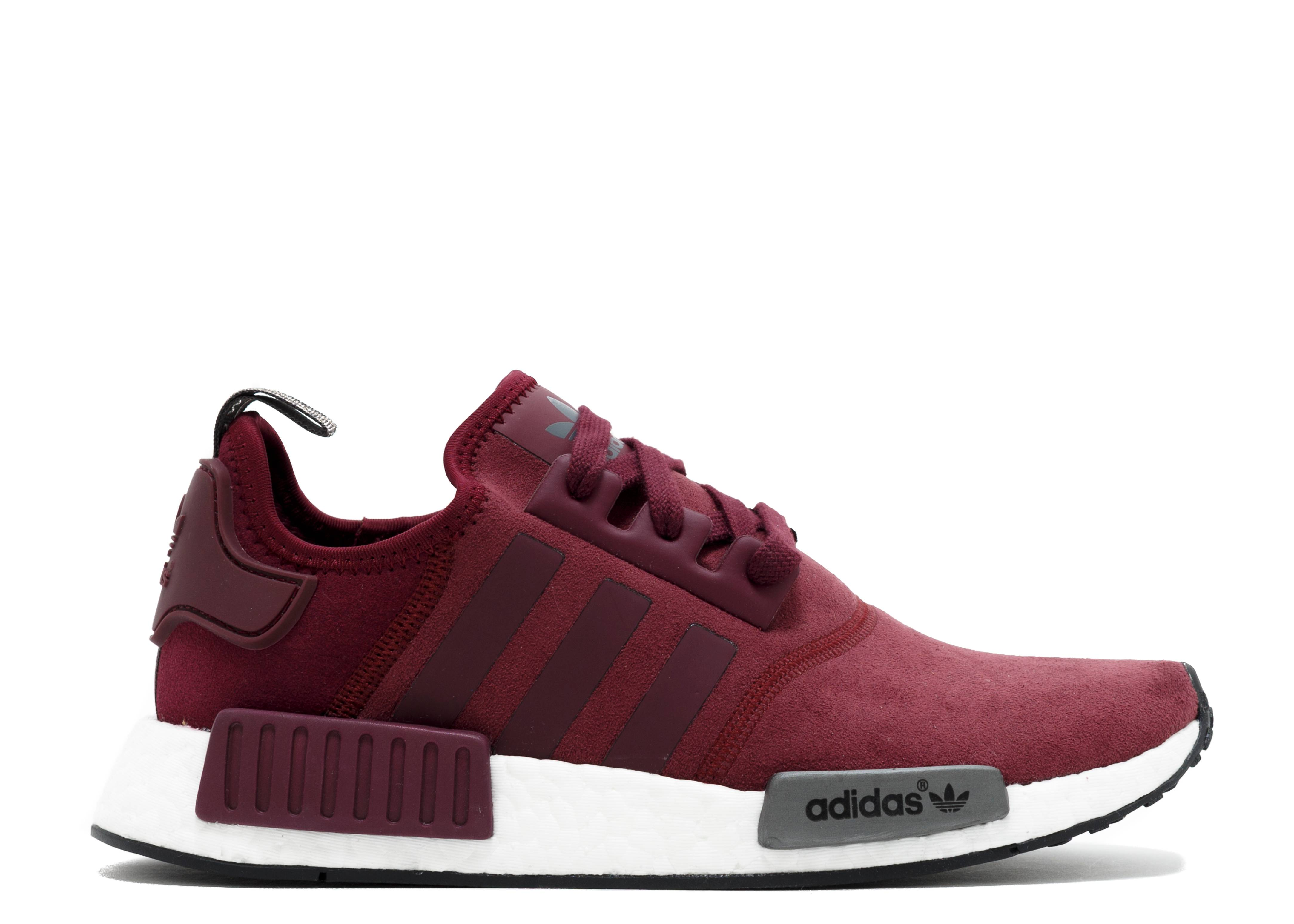 fb8ca64903789 Nmd R1 W - Adidas - s75231 - burgundy black white
