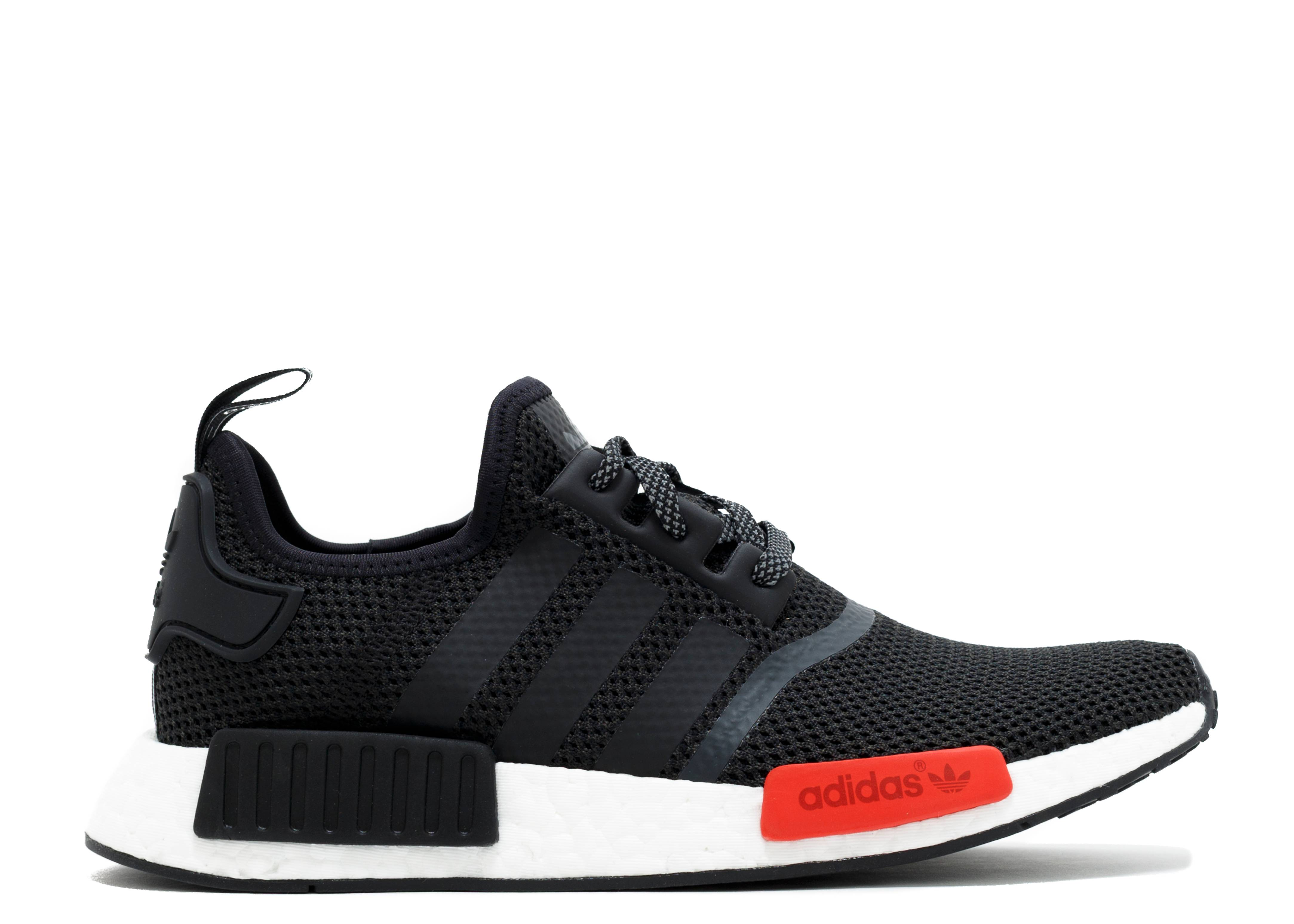Adidas NMD_R1 X Footlocker Exclusive BlackRed for Men and Women