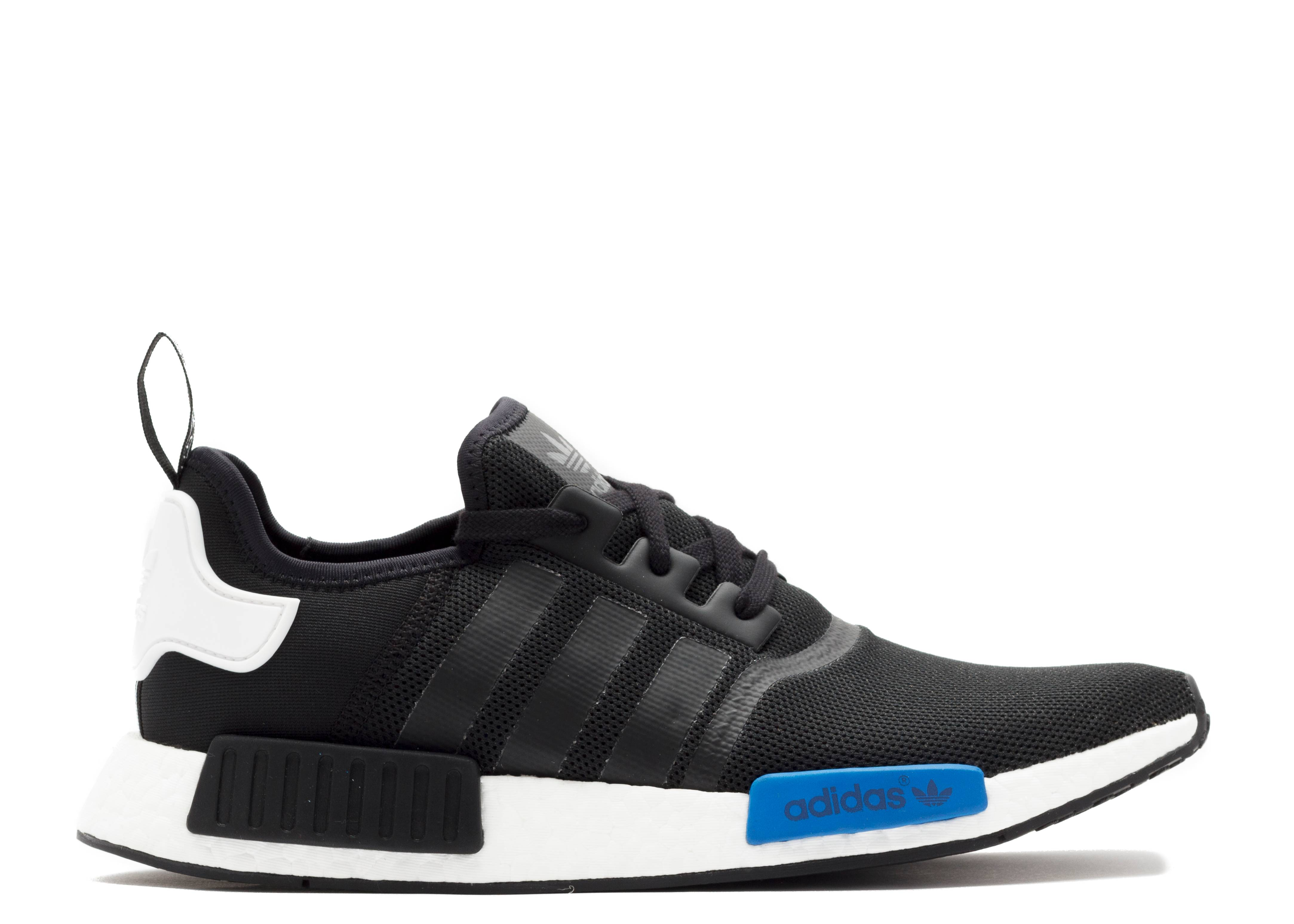 Adidas NMD Runner Core Black Clear Blue Whoosh!