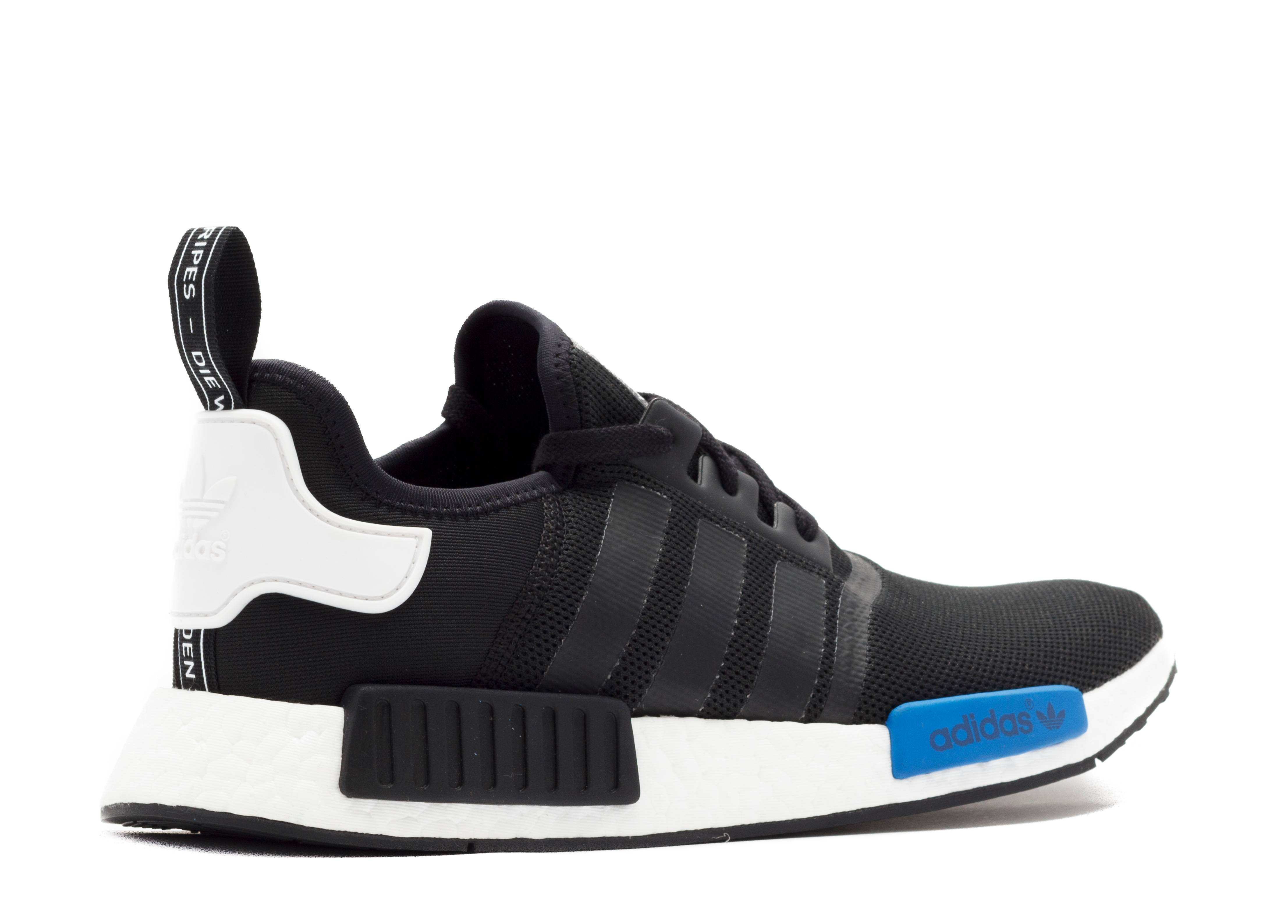 8d45107b0831d Adidas Nmd Black Blue White kenmore-cleaning.co.uk