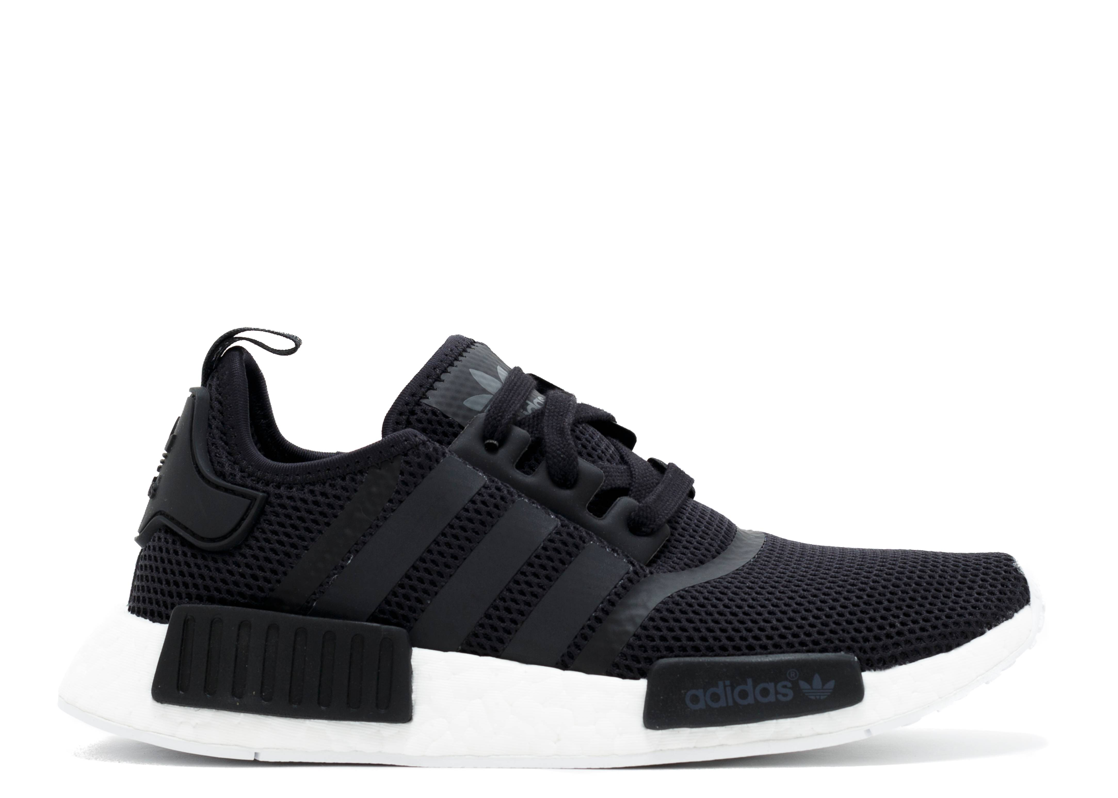 Nmd R1 Black White Flight Club