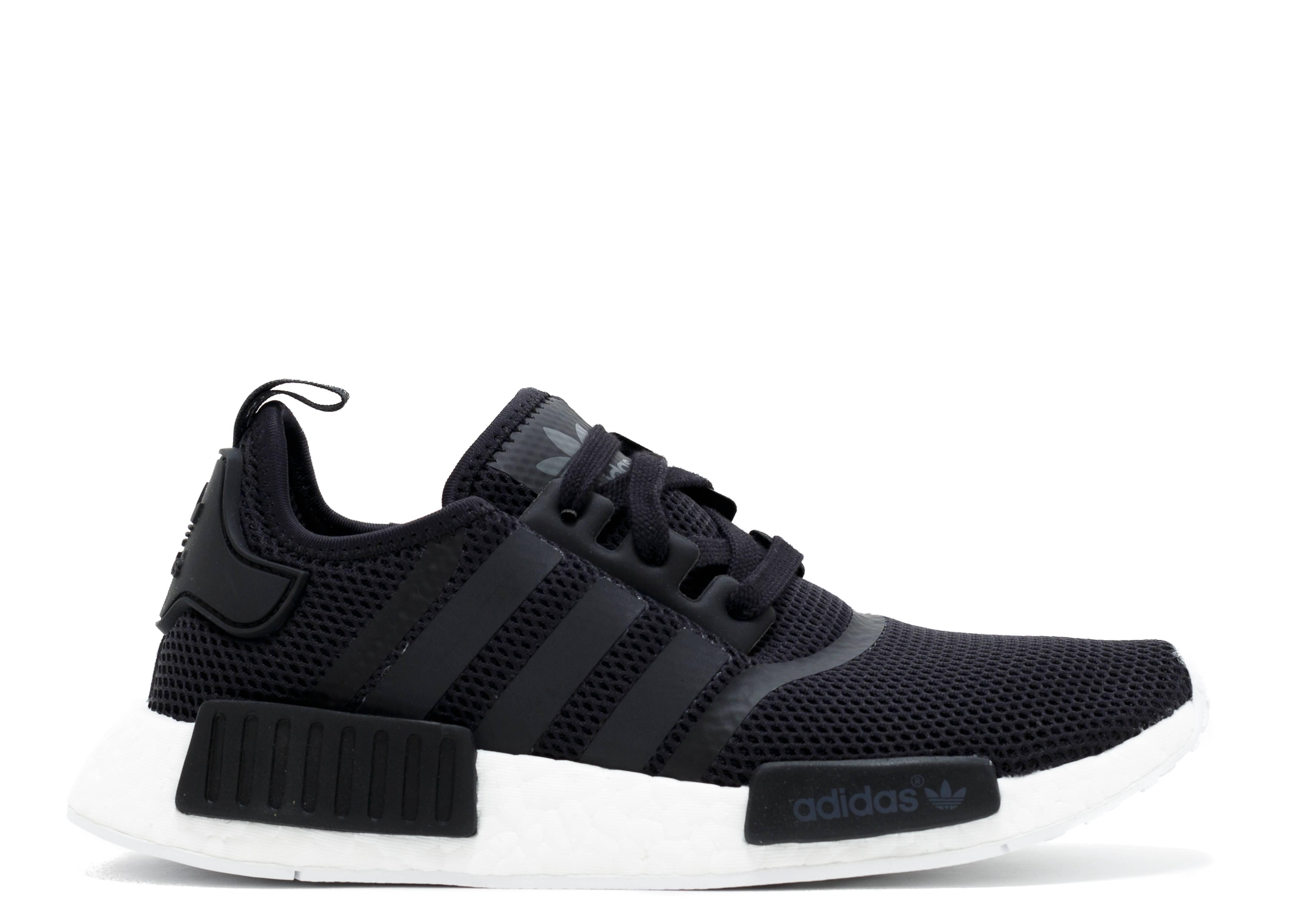 13b2cceced798 Nmd R1 - Adidas - s79165 - black white