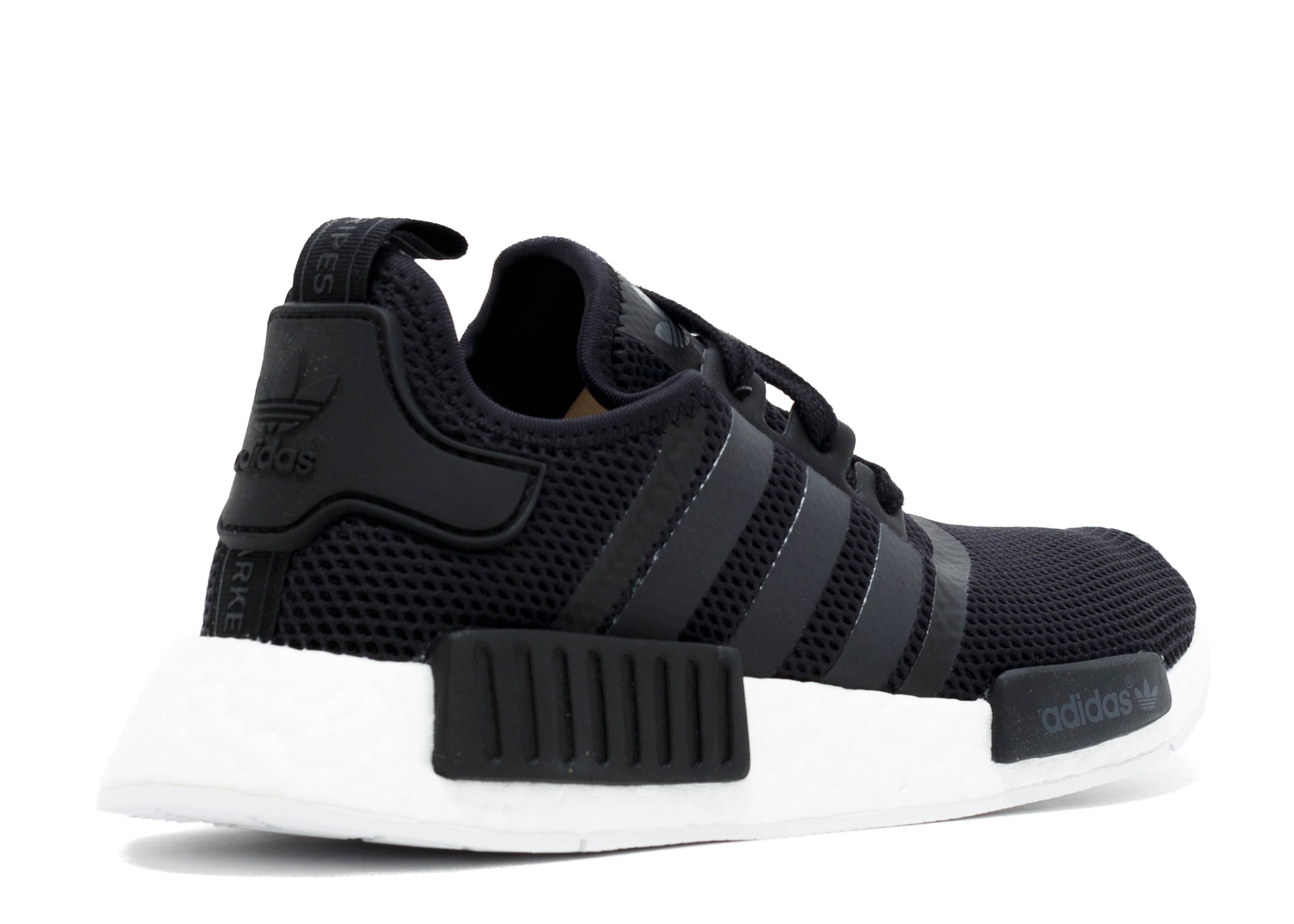 Adidas Nmd R1 Black White Red
