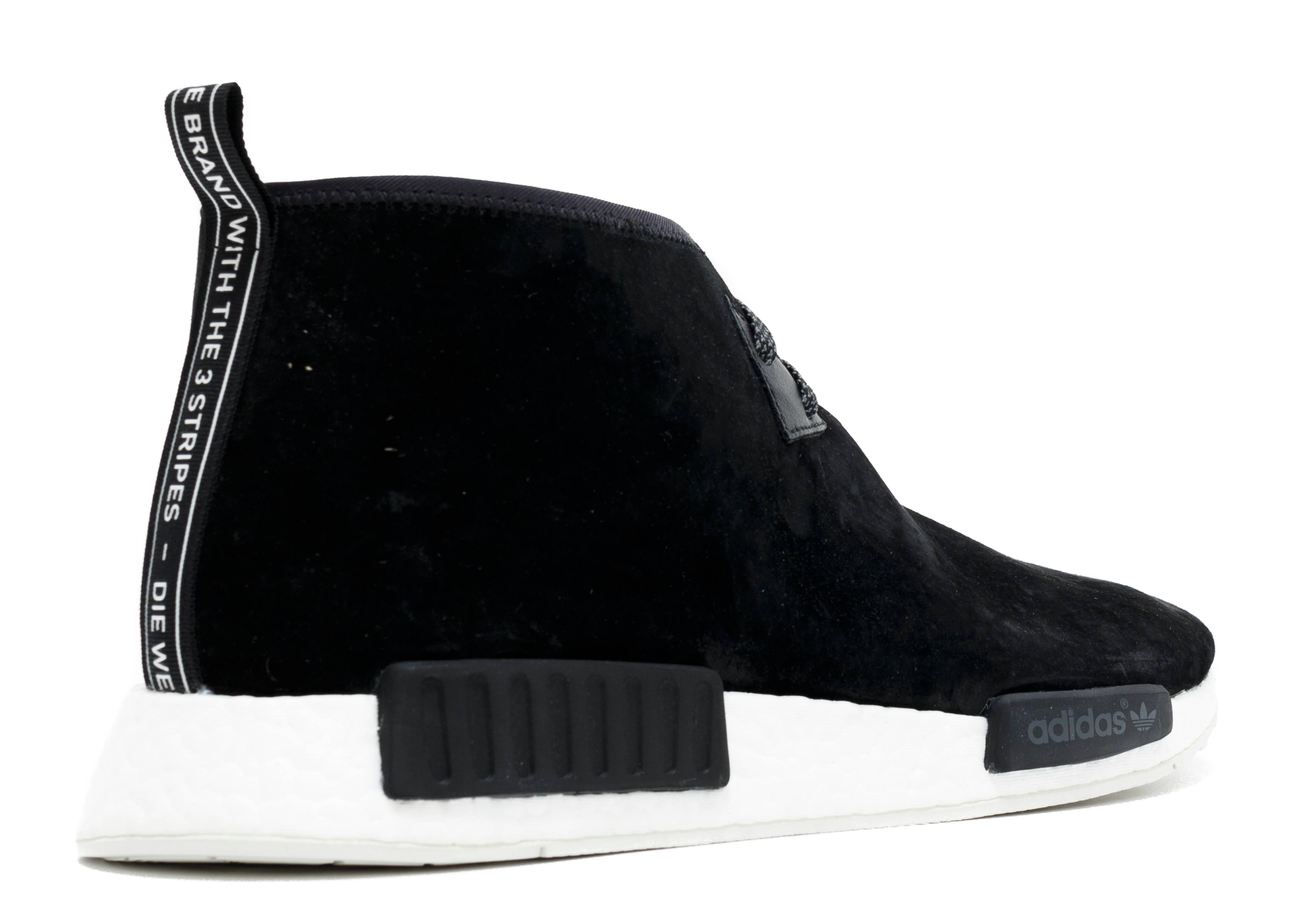 118302f573a3   Woy968 Adidas Originals NMD C1 Chukka OG Core Black   Lush