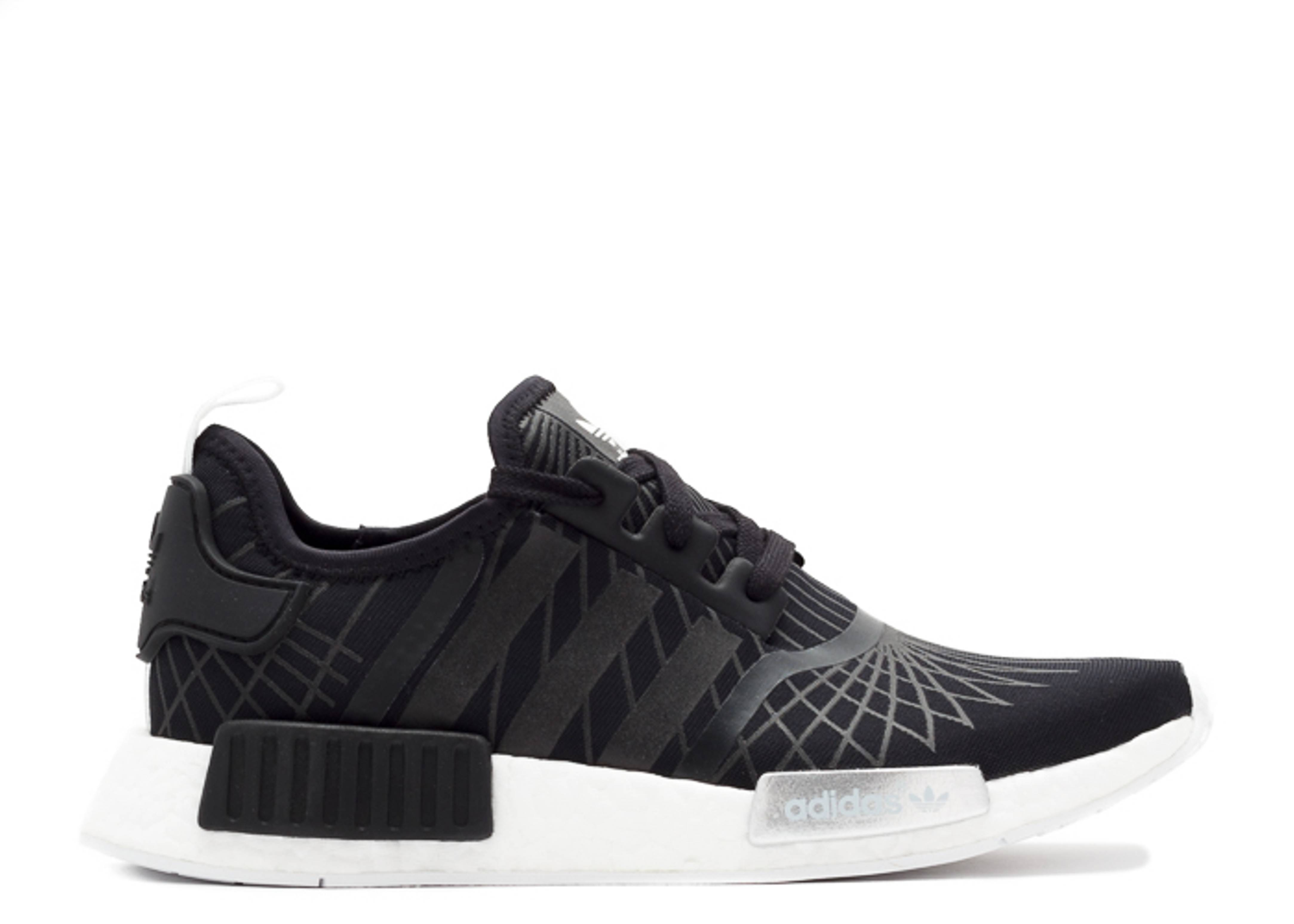new concept huge inventory new high quality Nmd Runner W - Adidas - s79386 - black/white-silver   Flight Club