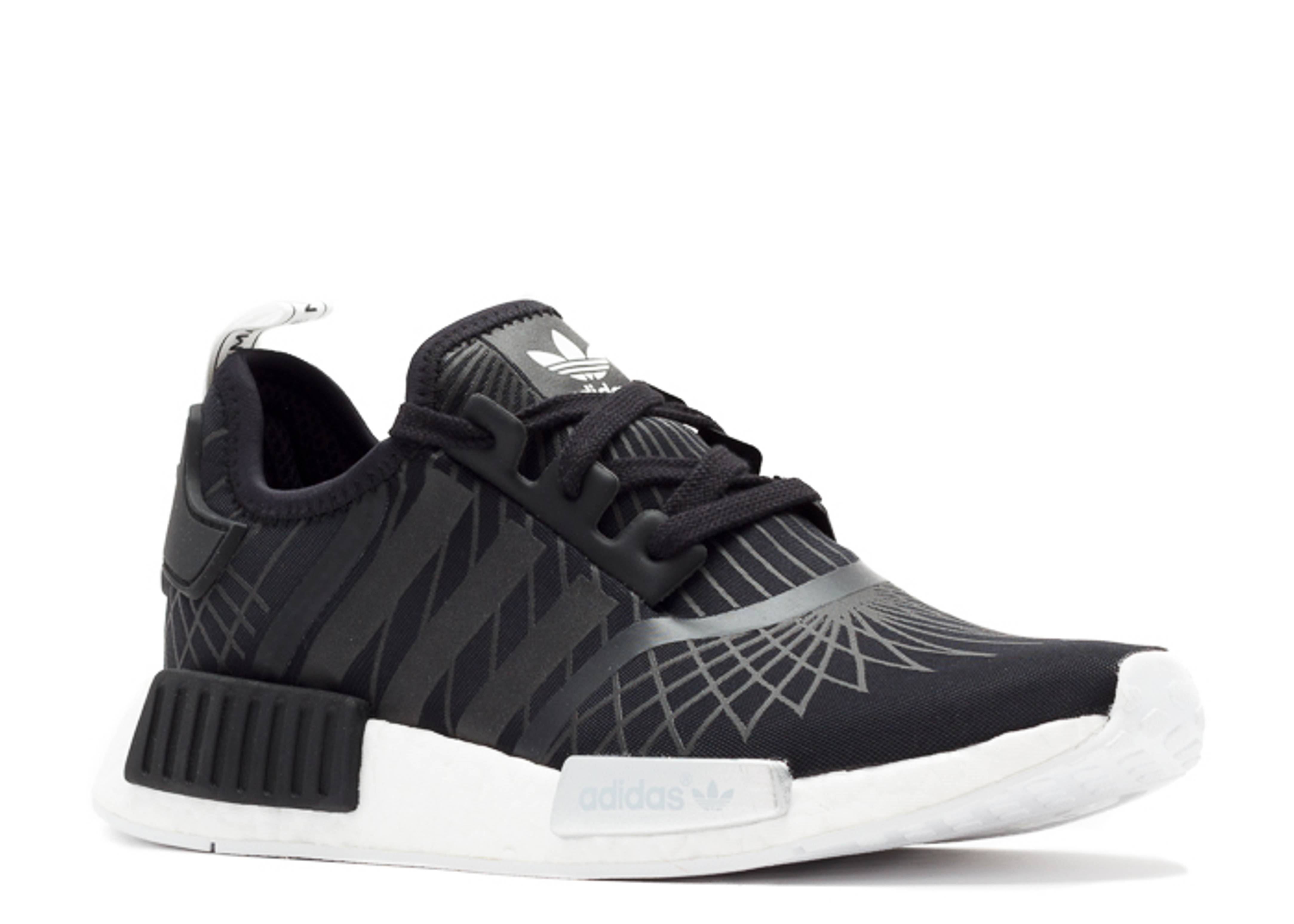 cheap for discount 3d0f6 7c00c Nmd Runner W - Adidas - s79386 - black/white-silver | Flight ...