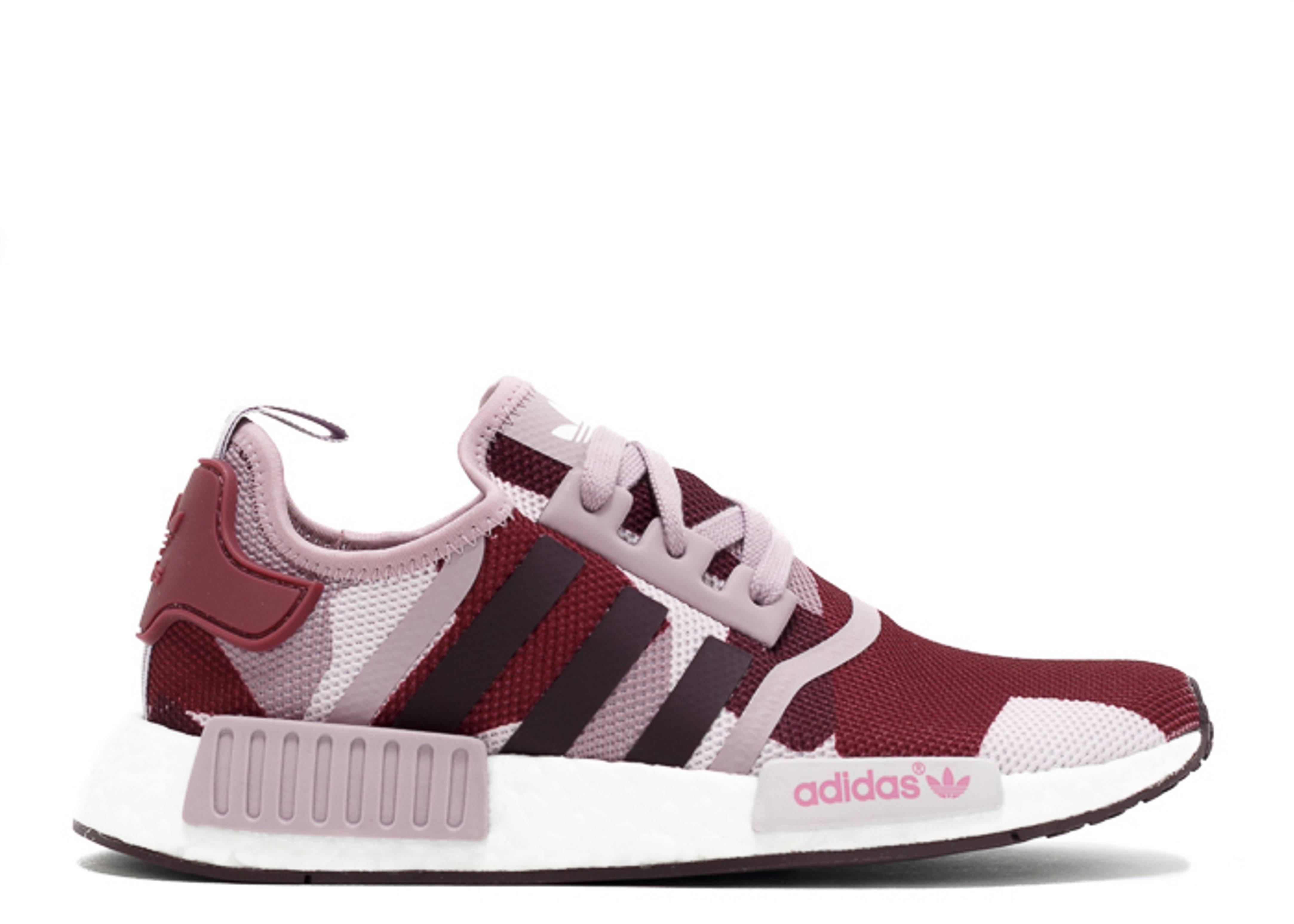 fdd48e66ecb42 Nmd R1 W - Adidas - s75721 - blanch purple  white