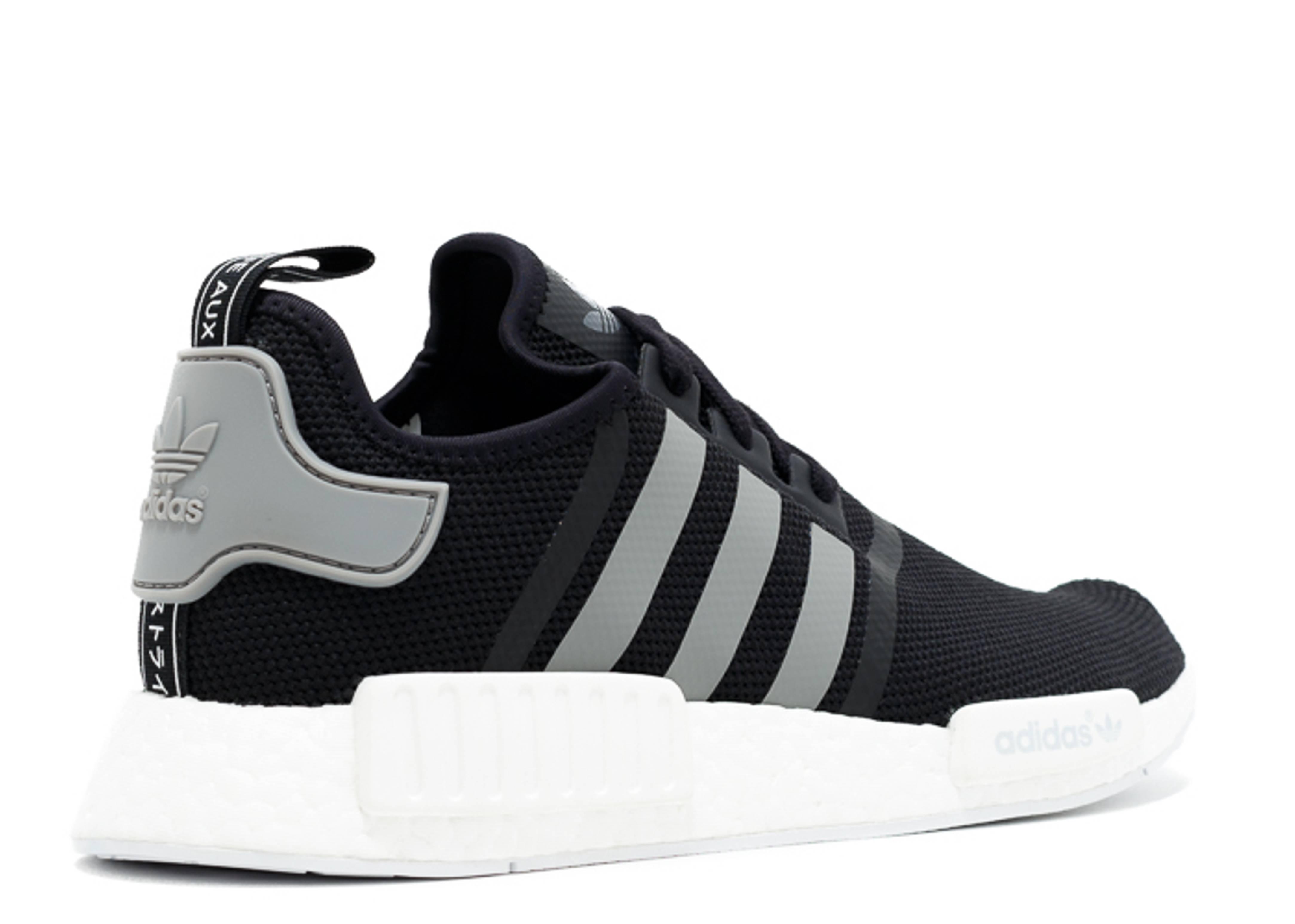Adidas Nmd Black White Grey