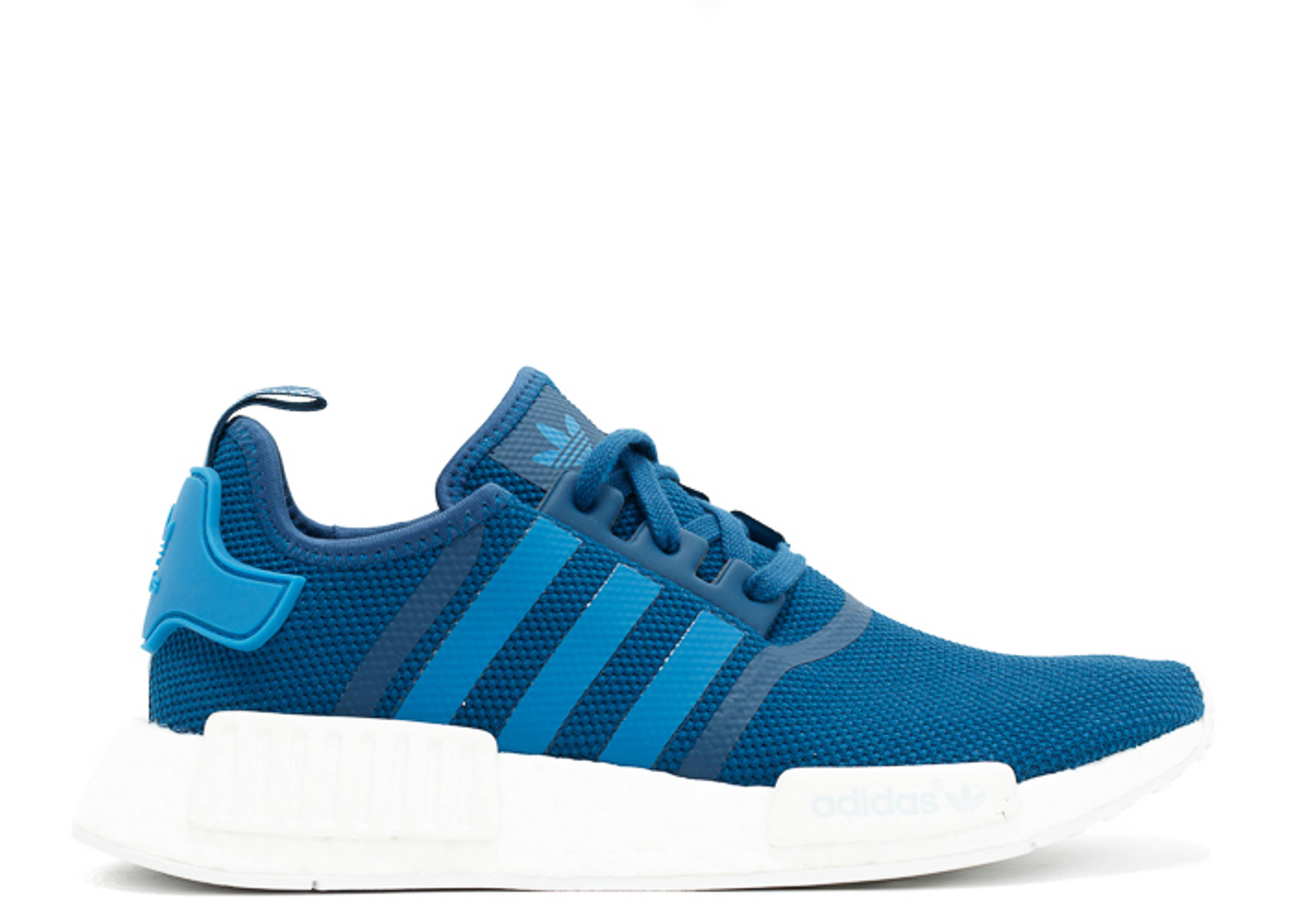 Nmd Blue White