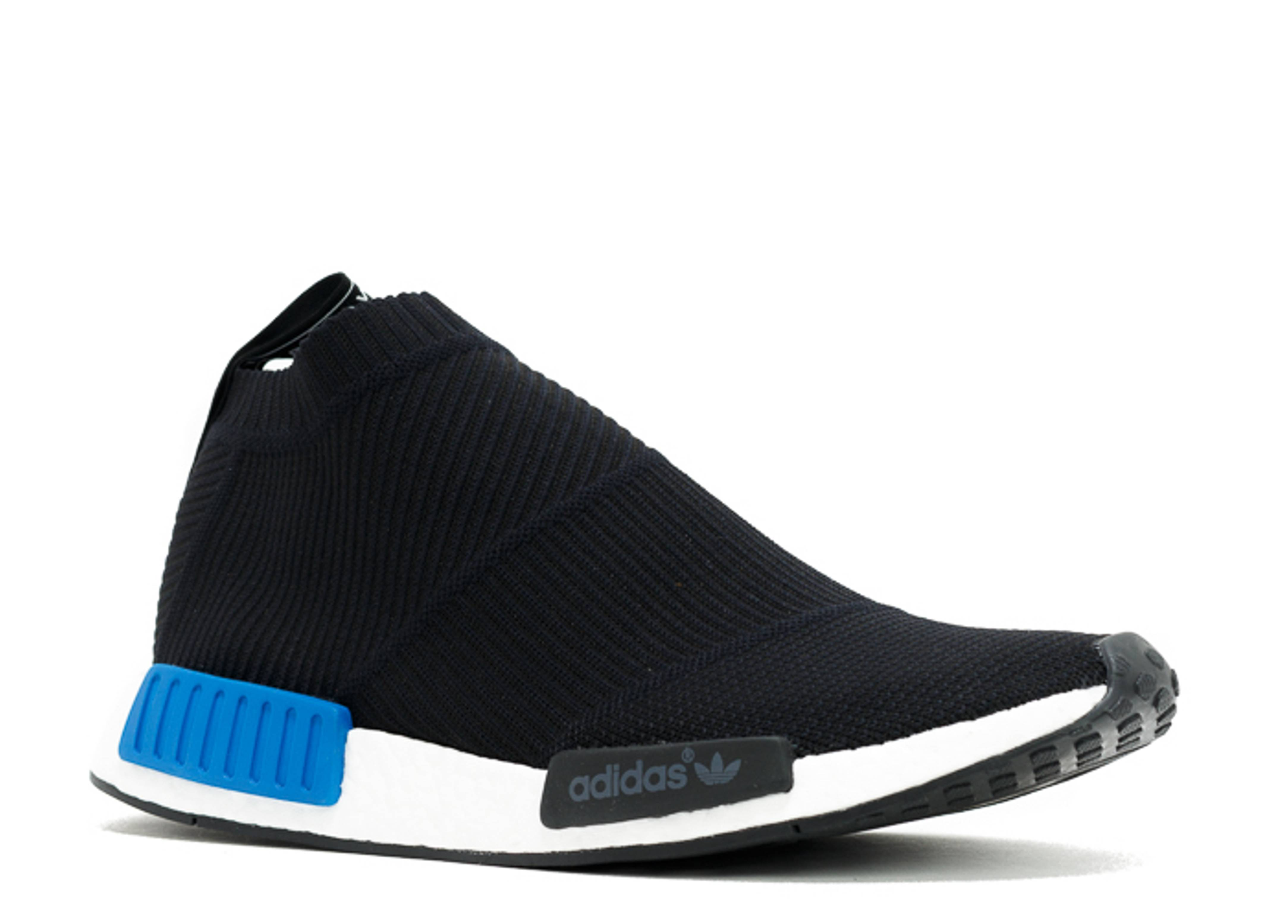 nmd cs1 pk city sock adidas s79152 black blue. Black Bedroom Furniture Sets. Home Design Ideas