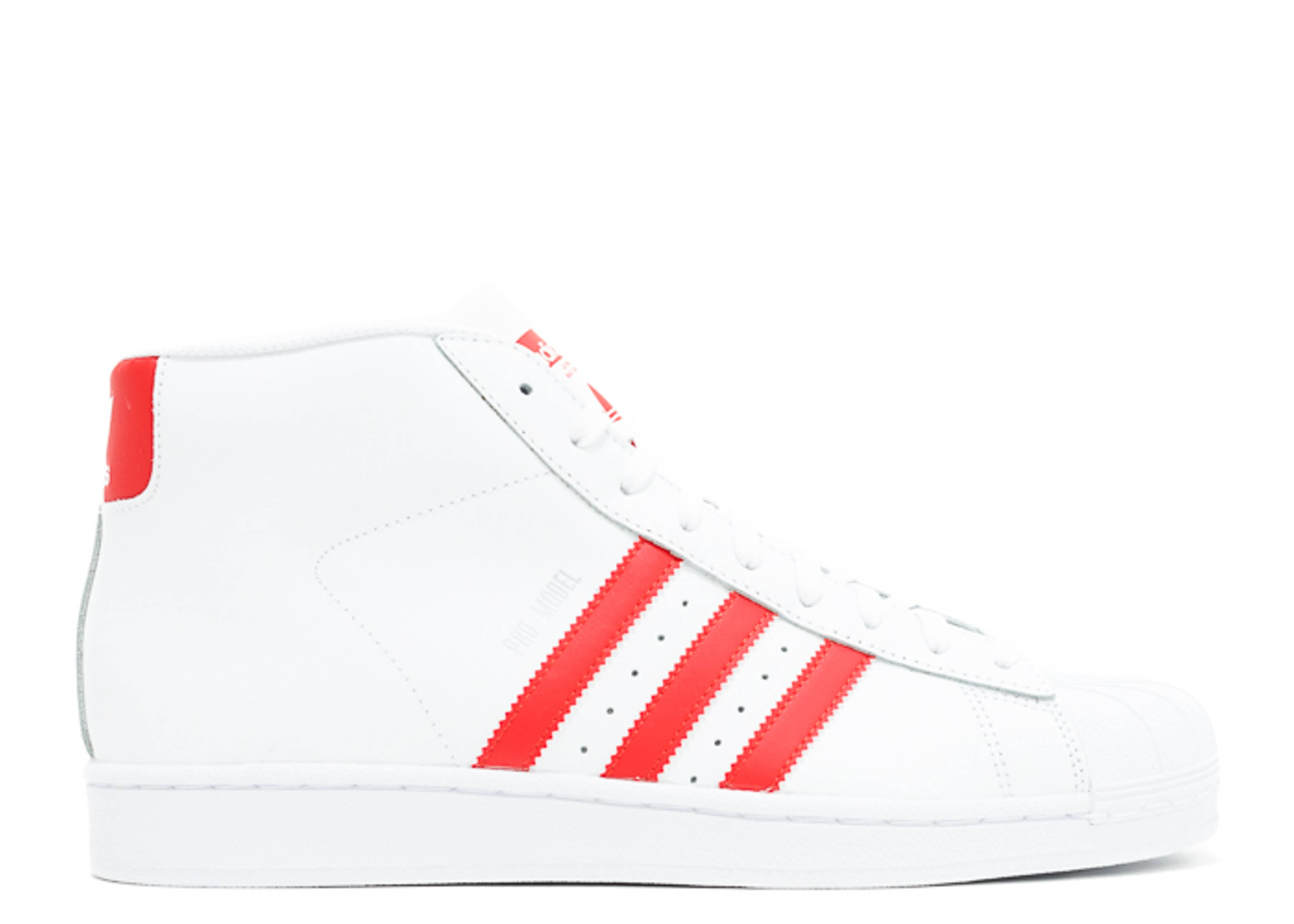 vite Terribile Equivalente  Pro Model - Adidas - S75928 - footwear white/red/footwear white   Flight  Club