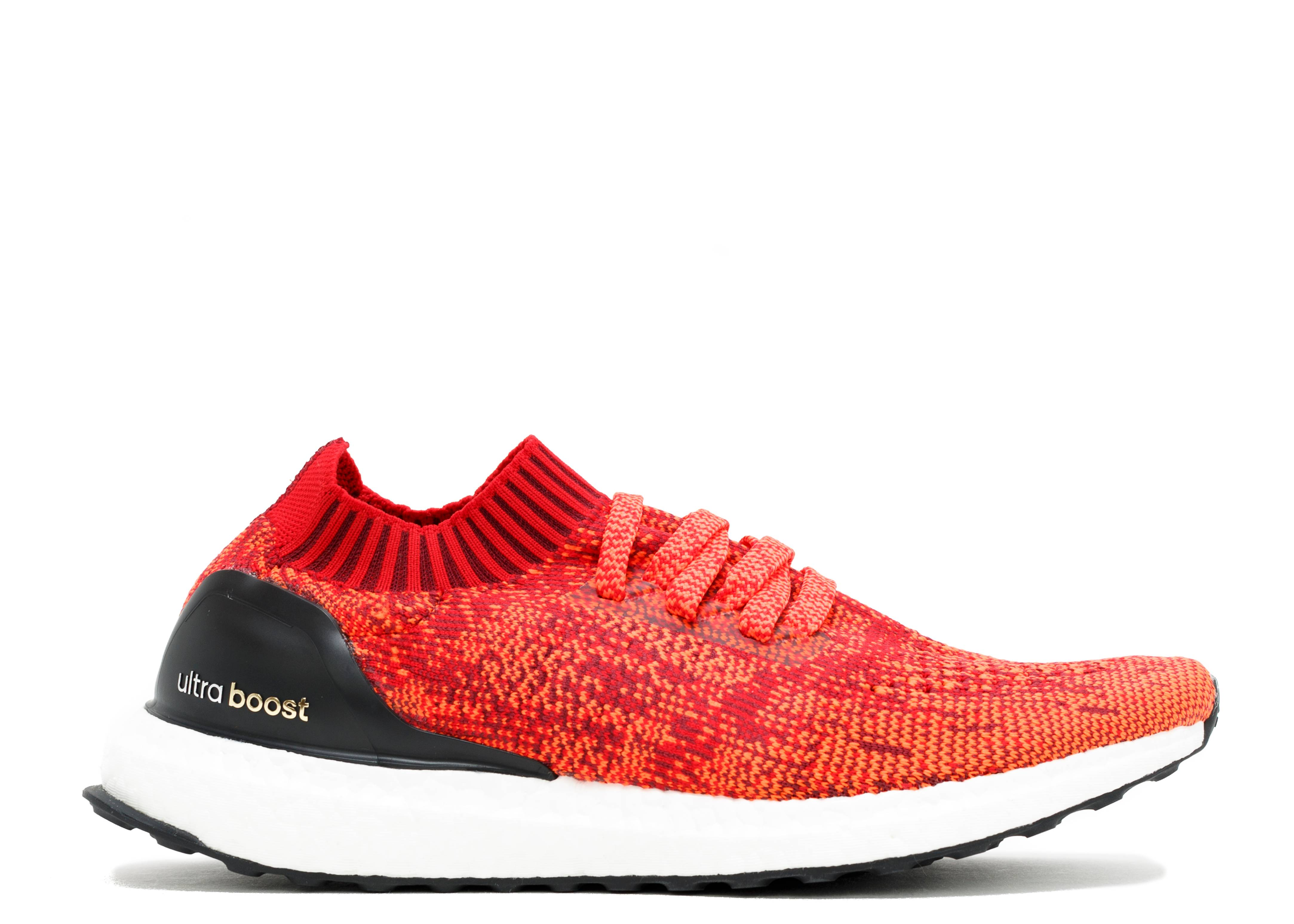 UltraBoost Uncaged 'Solar Red'