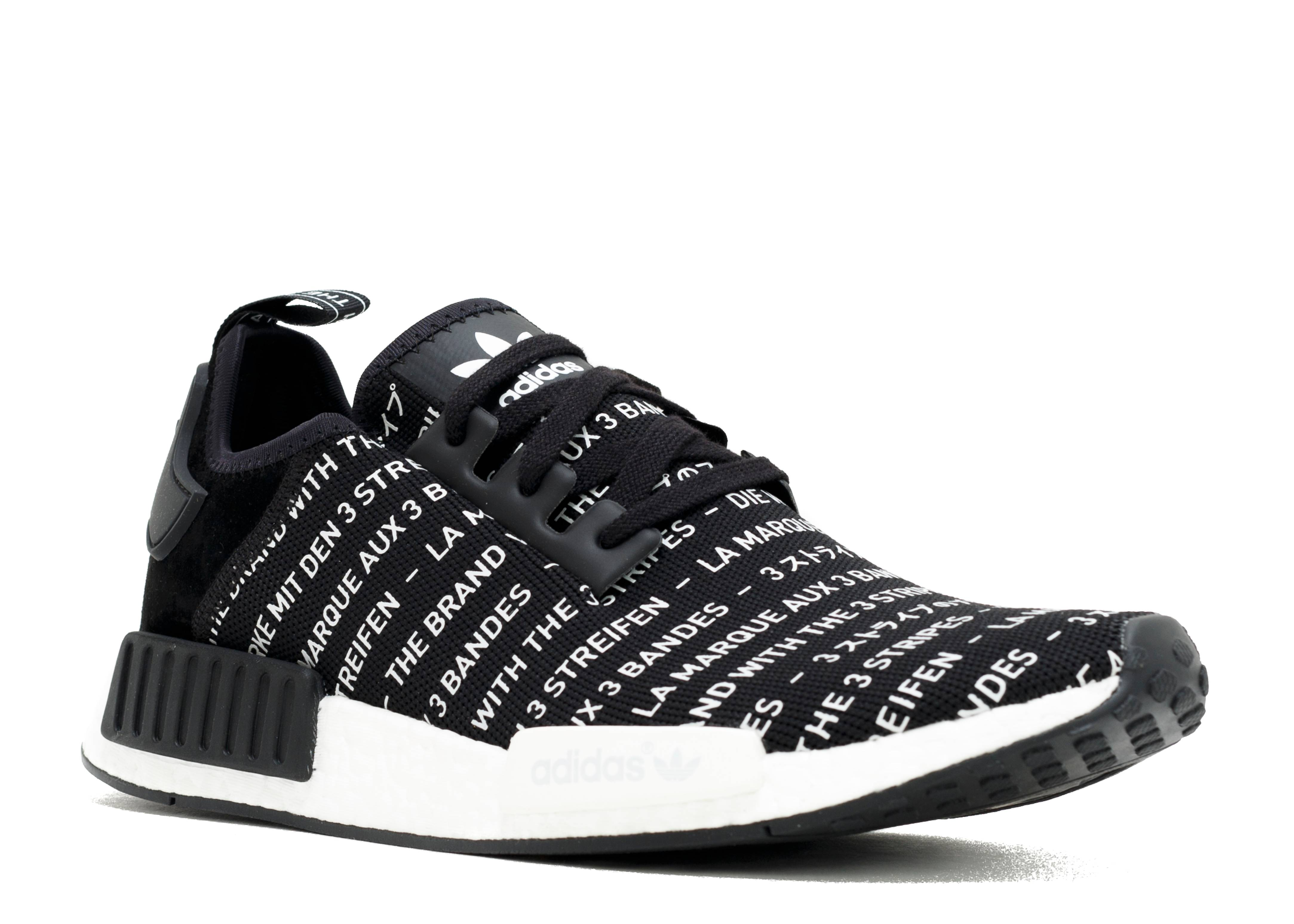 Men's Adidas NMD R1 Black Tri Color Japan F99712