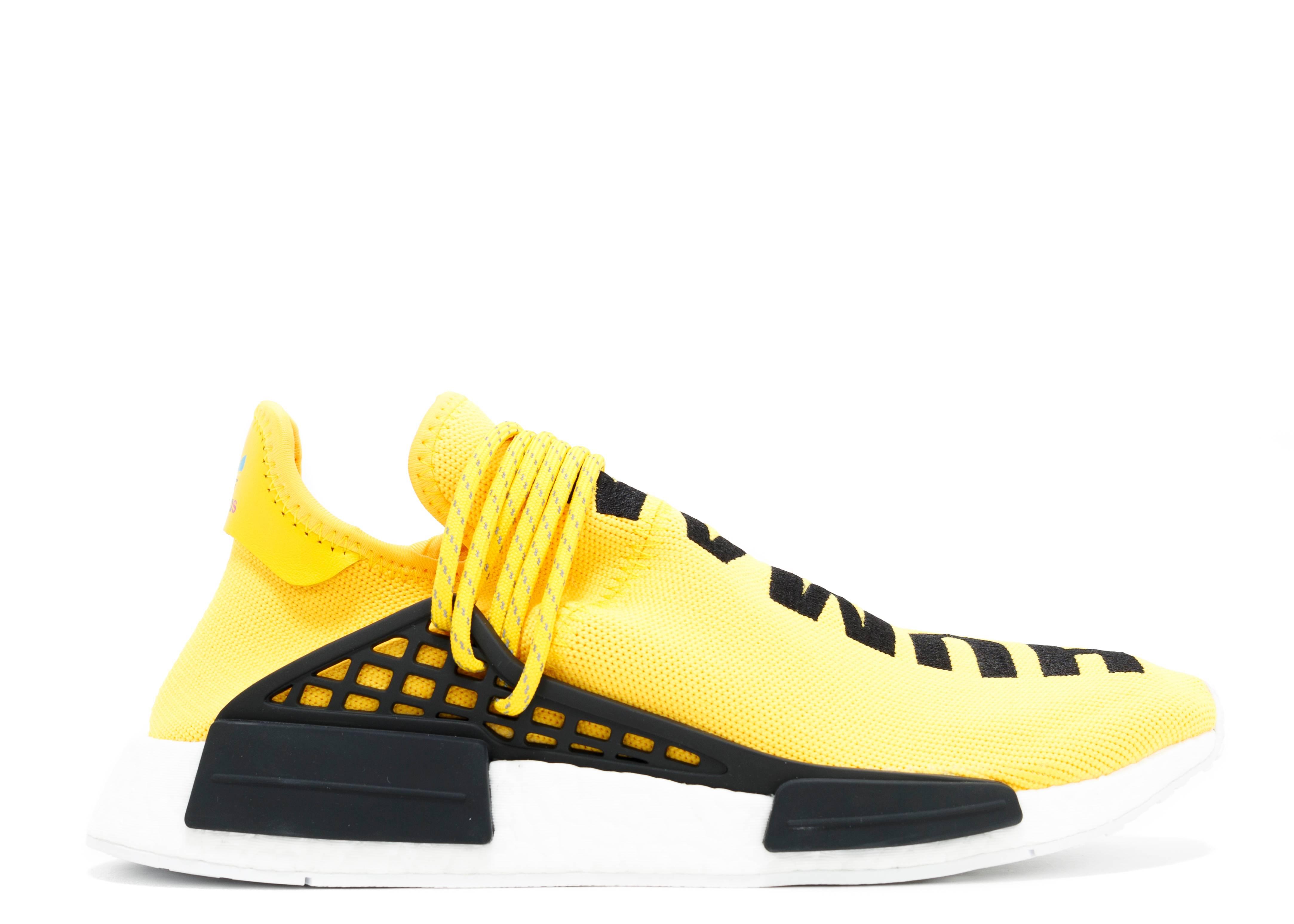 Pharrell X Nmd Human Race Yellow Adidas Bb0619 Yellow