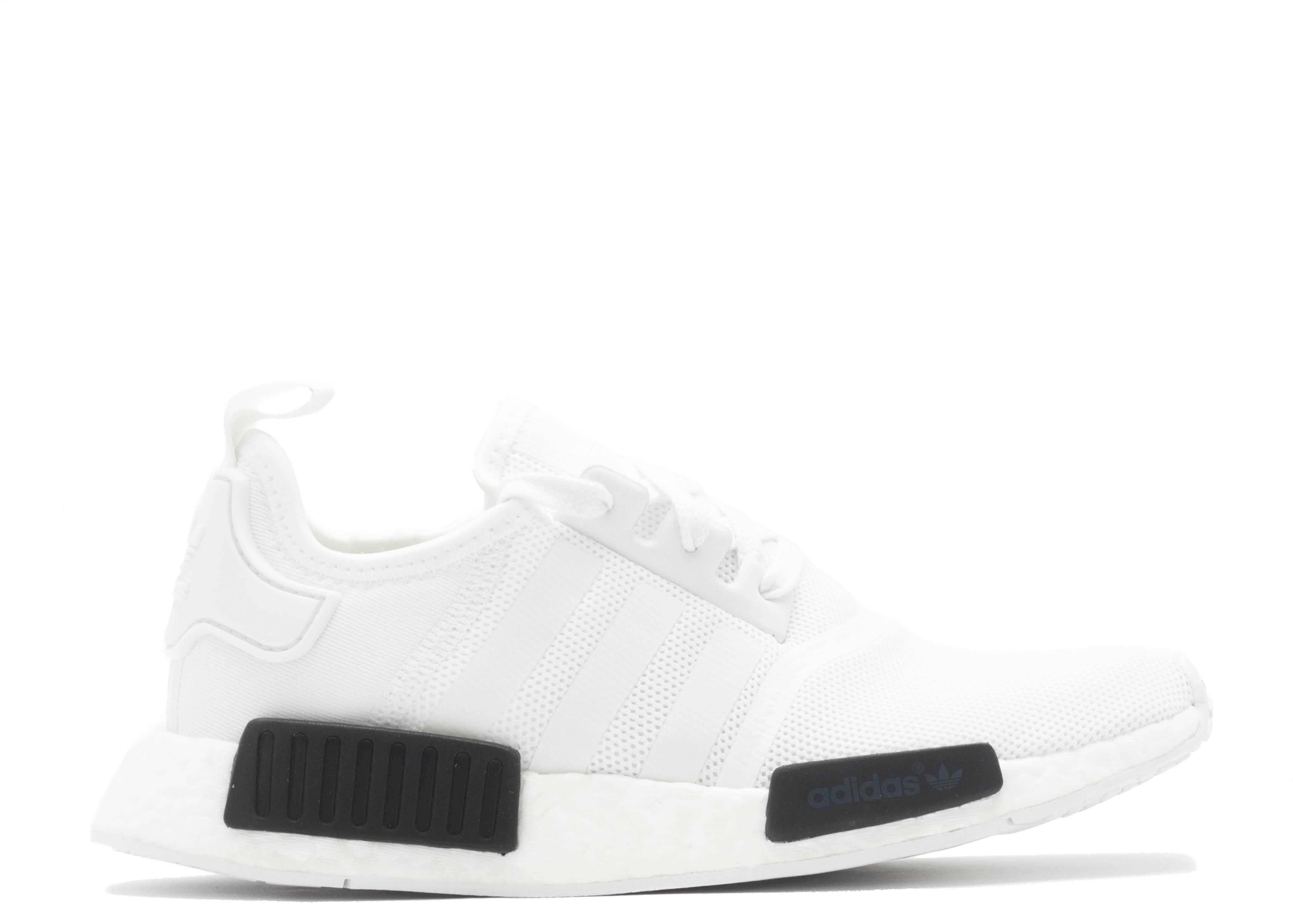 11944b5ea2f8e Nmd R1 - Adidas - bb1968 - white black