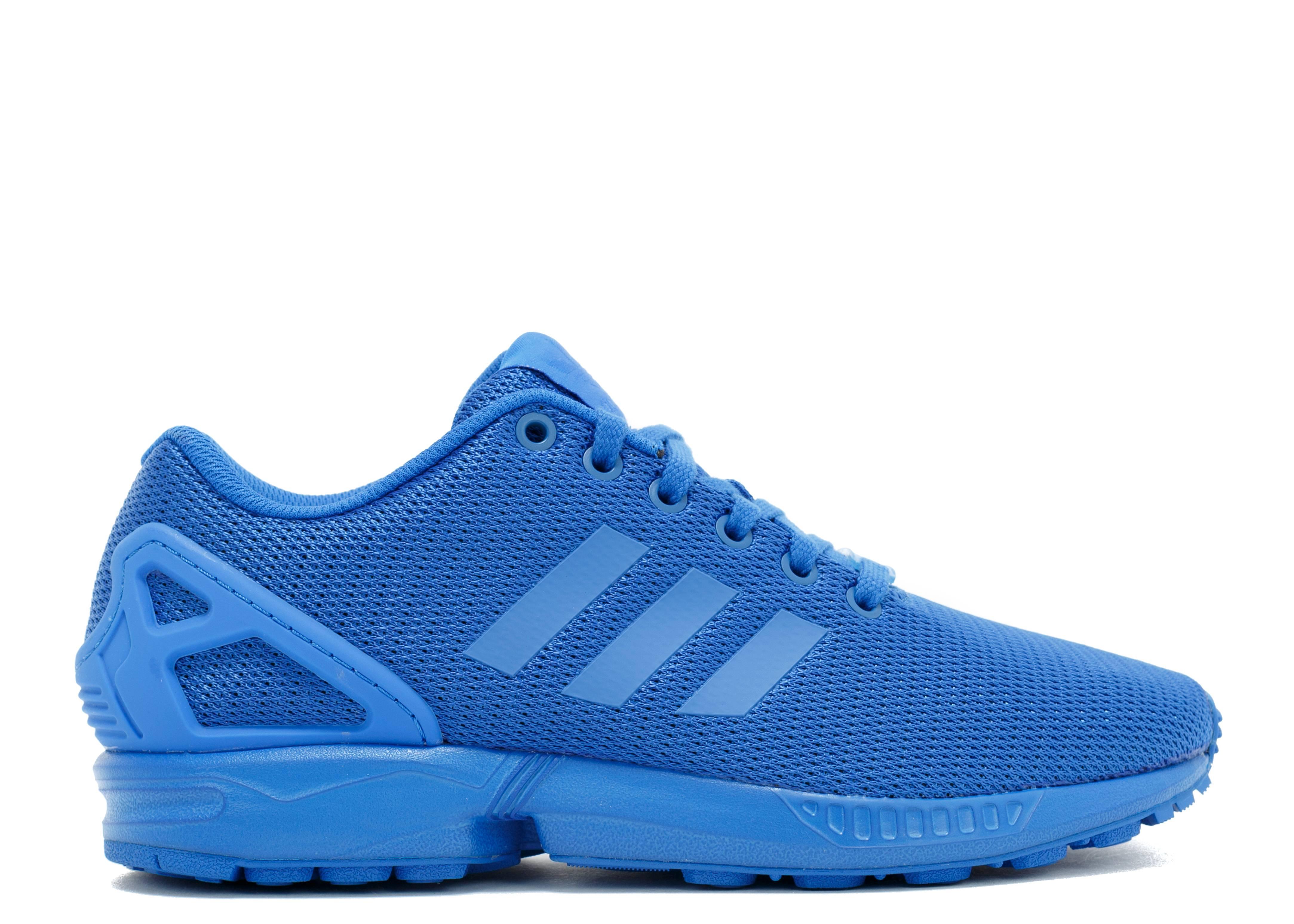 online store 8ad97 aacd7 Zx Flux - Adidas - s32280 - blue/blue/boblue | Flight Club