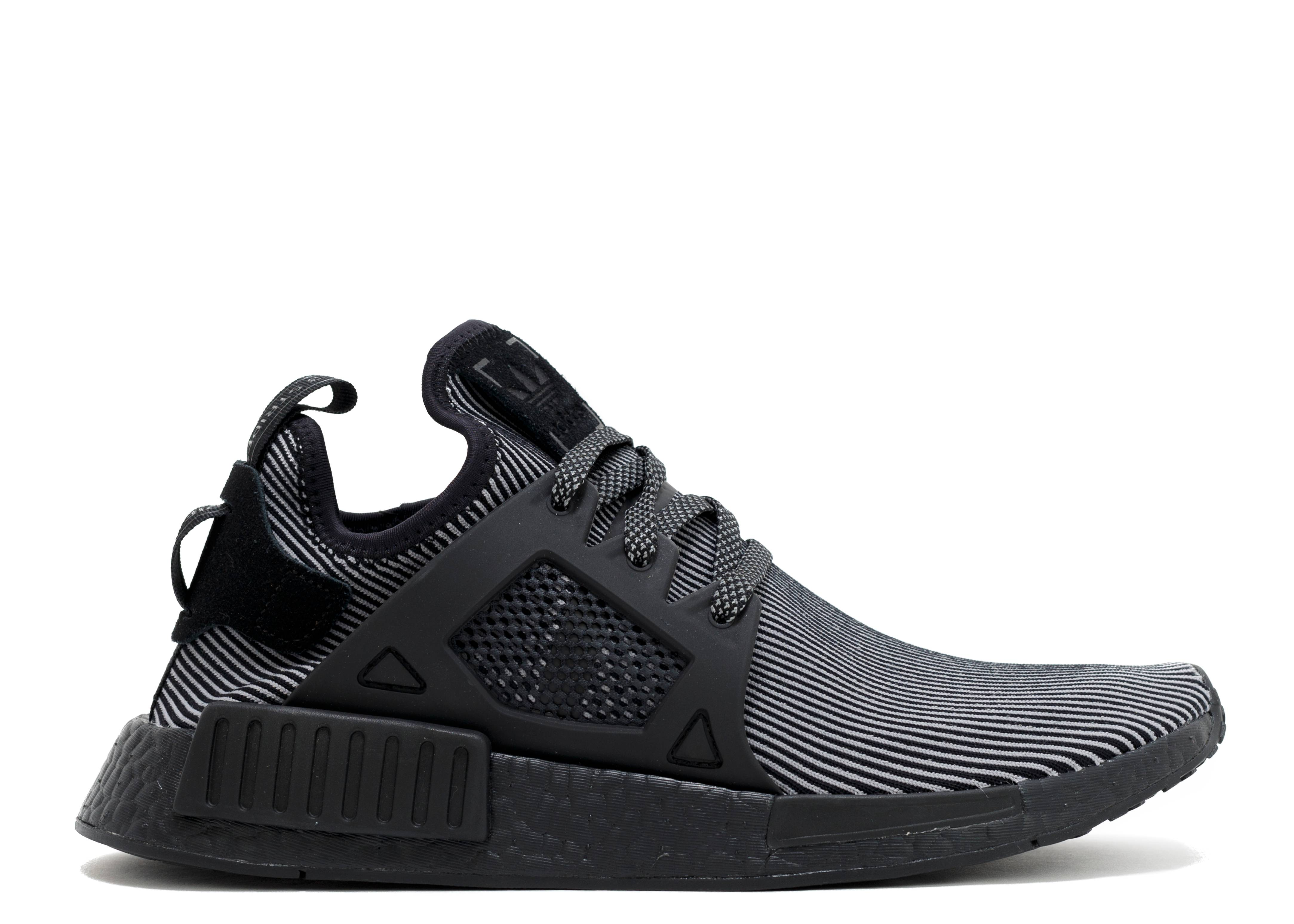 adidas Originals NMD Xr1 PK Primeknit Core Black Silver Men Shoes