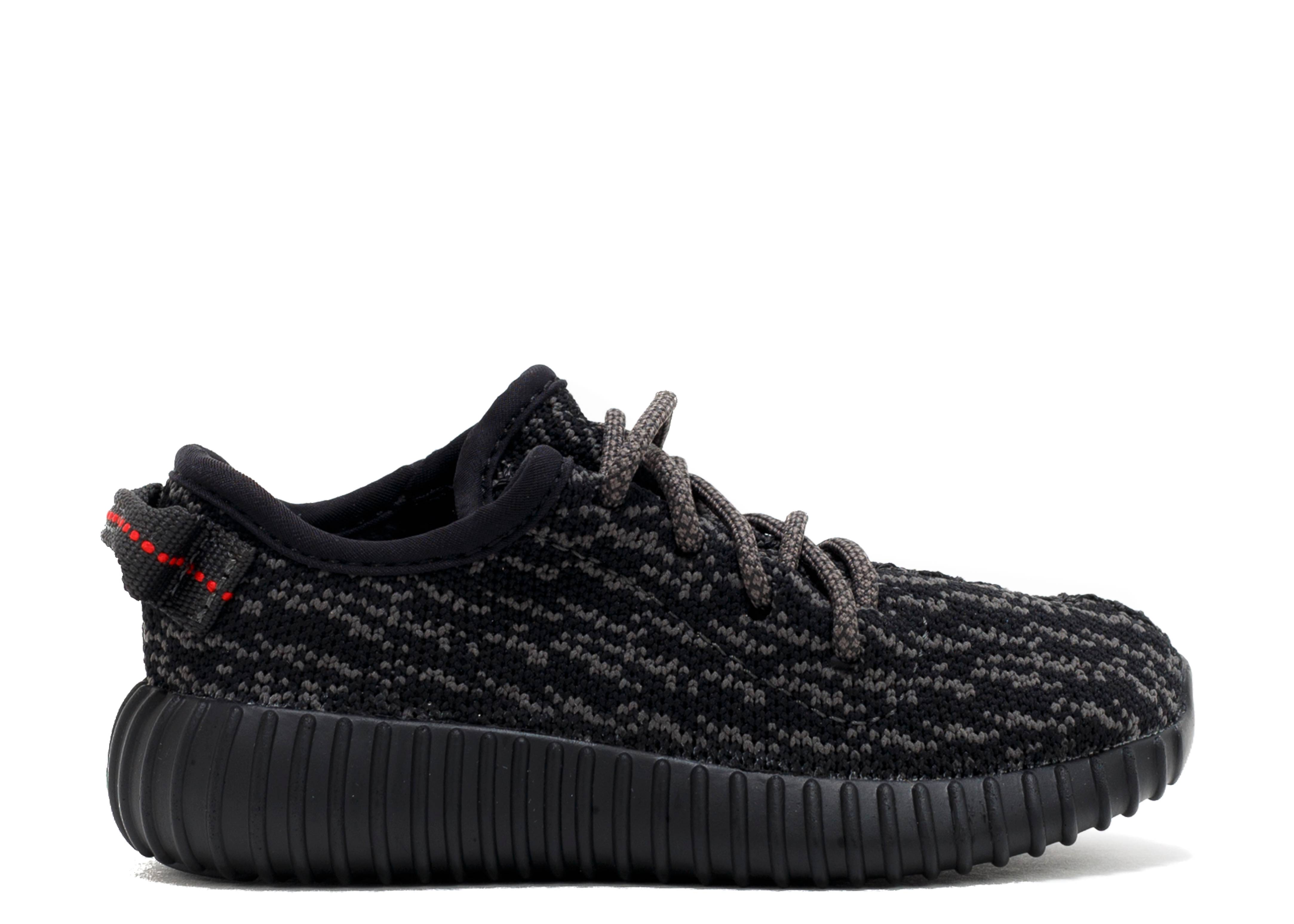 "Yeezys Flight Club >> Yeezy Boost 350 Infant ""pirate Black"" - Adidas - bb5355 - pirblk/blugra/cblack 
