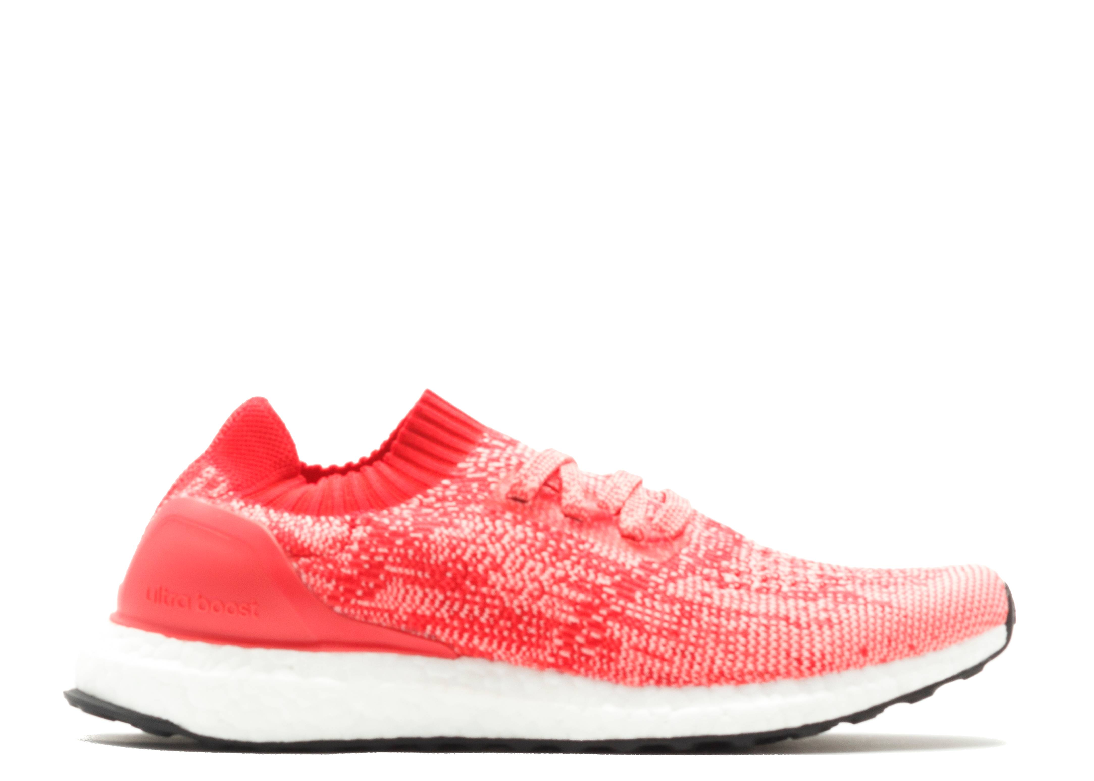 ultra boost uncaged j pink white. Black Bedroom Furniture Sets. Home Design Ideas