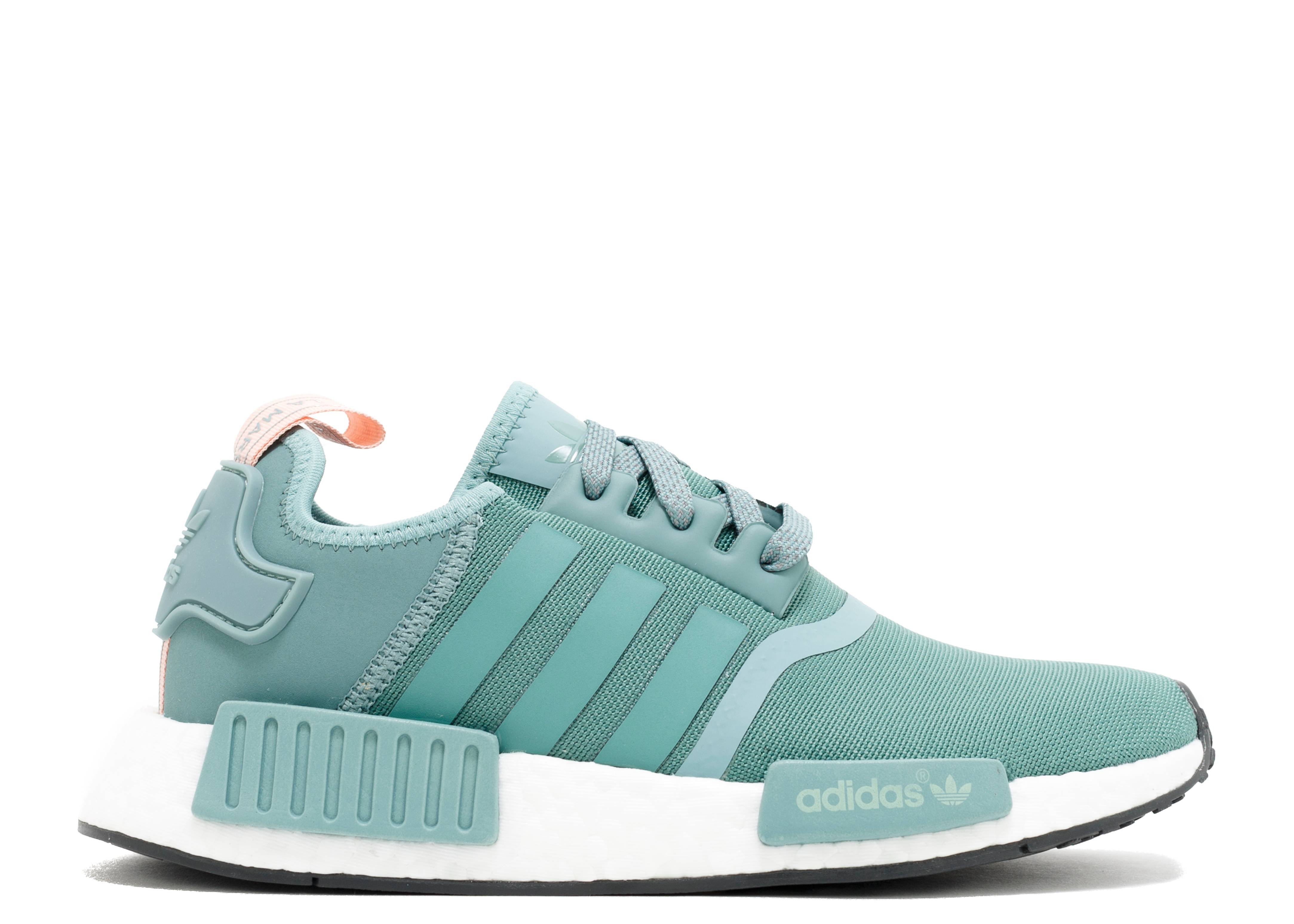 nmd r1 w adidas s76010 teal vintage white flight club. Black Bedroom Furniture Sets. Home Design Ideas
