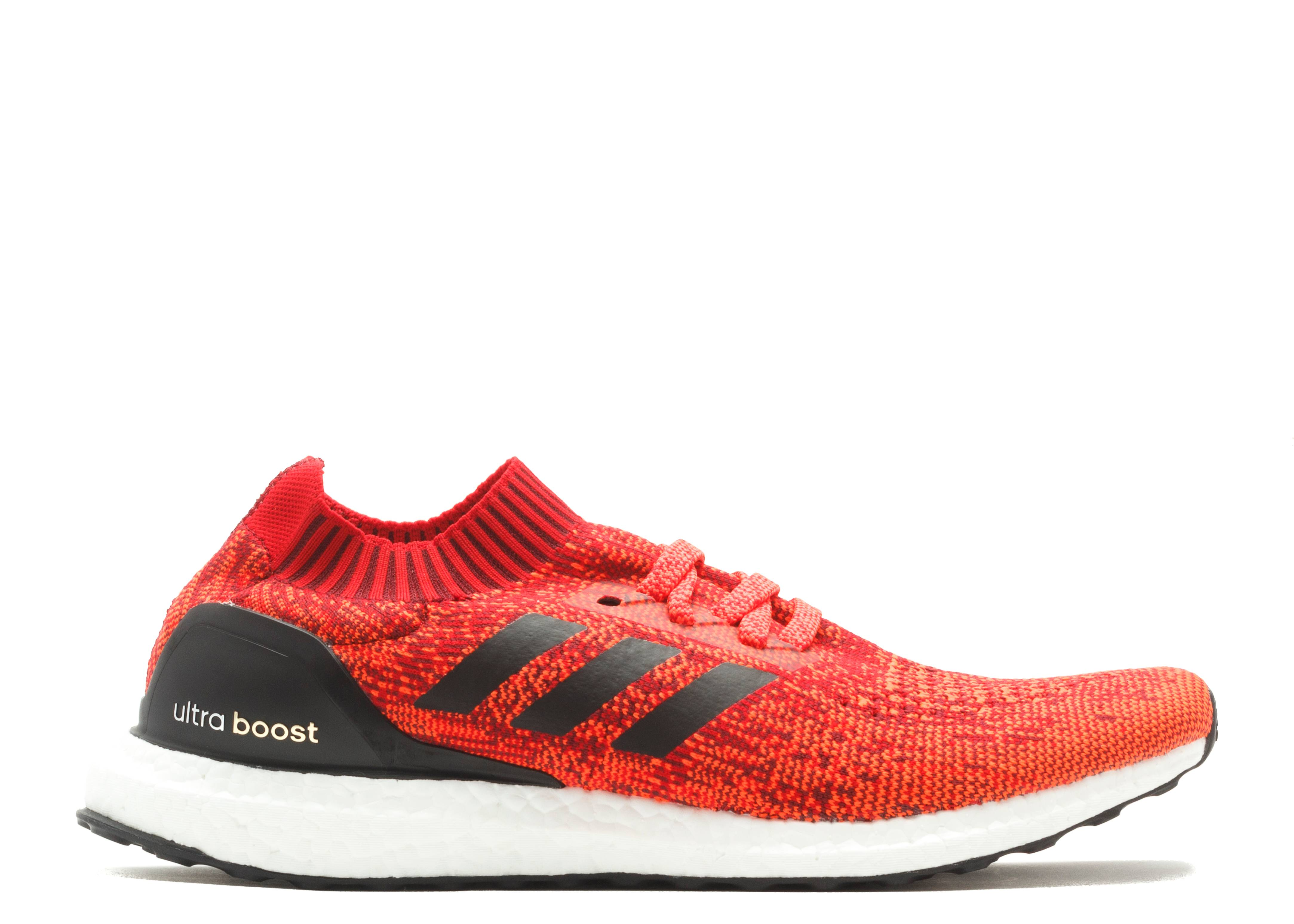 ultra boost uncaged m adidas ba9302 red black white. Black Bedroom Furniture Sets. Home Design Ideas