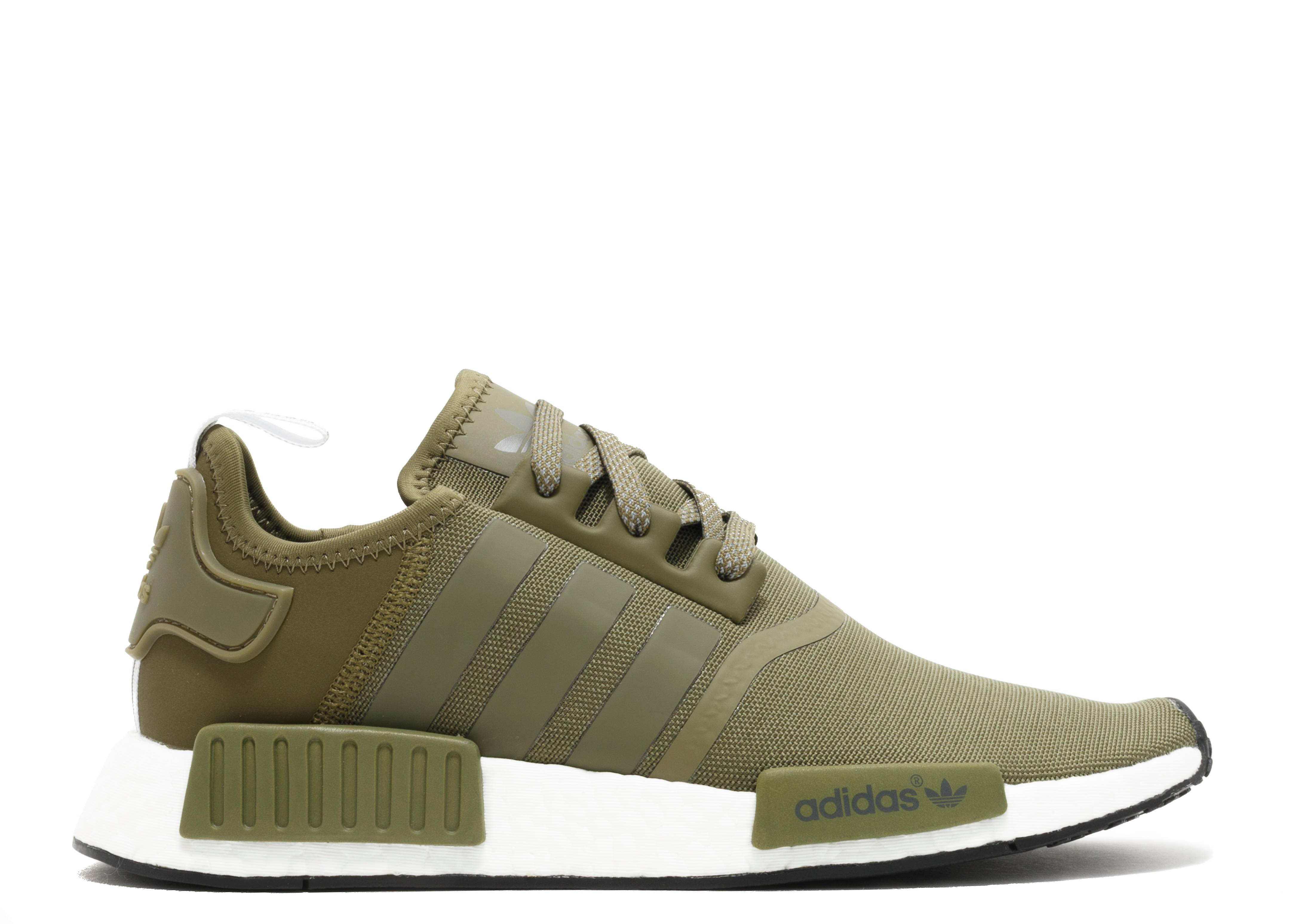 """nmd r1 """"olive cargo"""""""