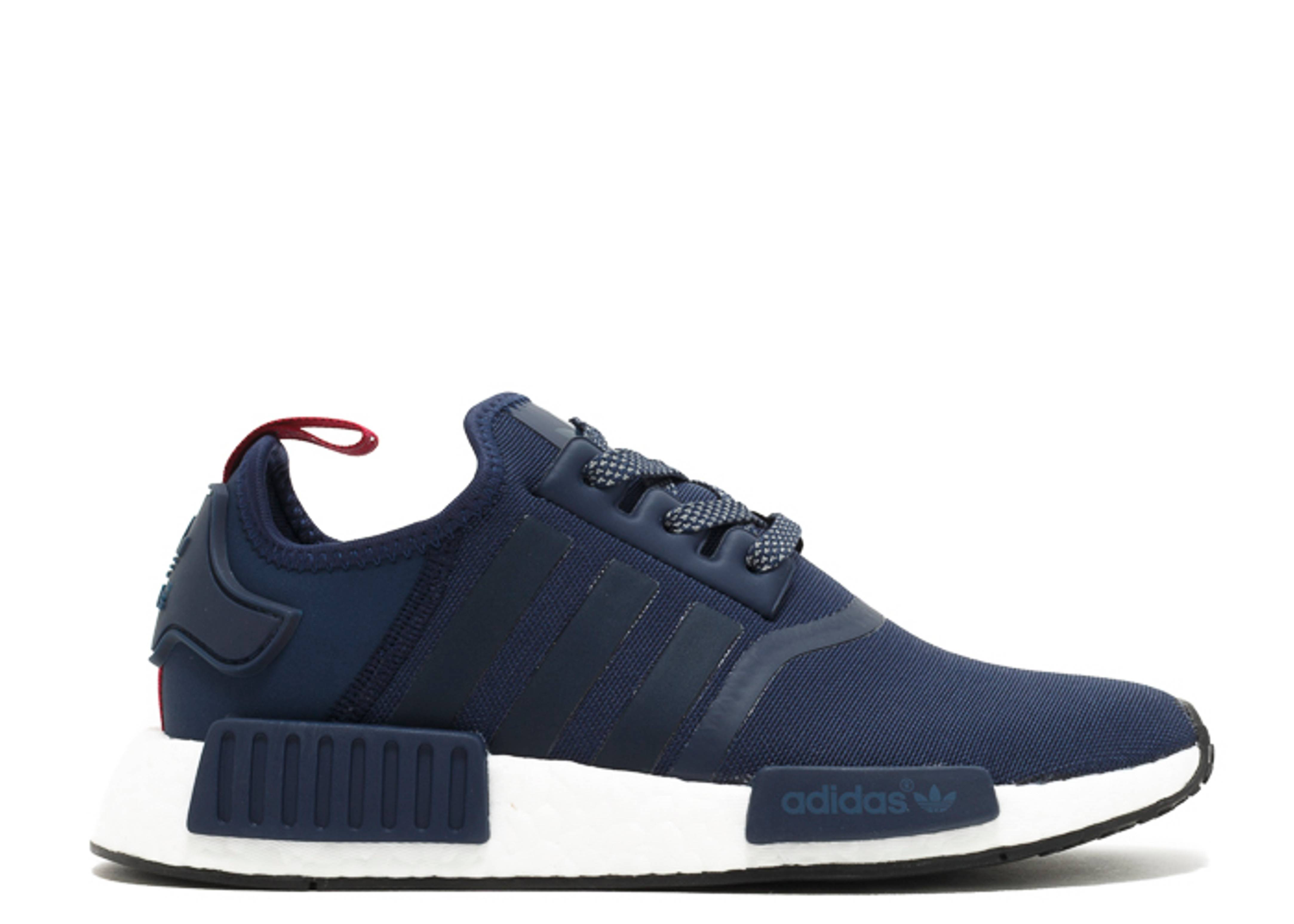 "nmd r1 w ""Collegiate Navy"""