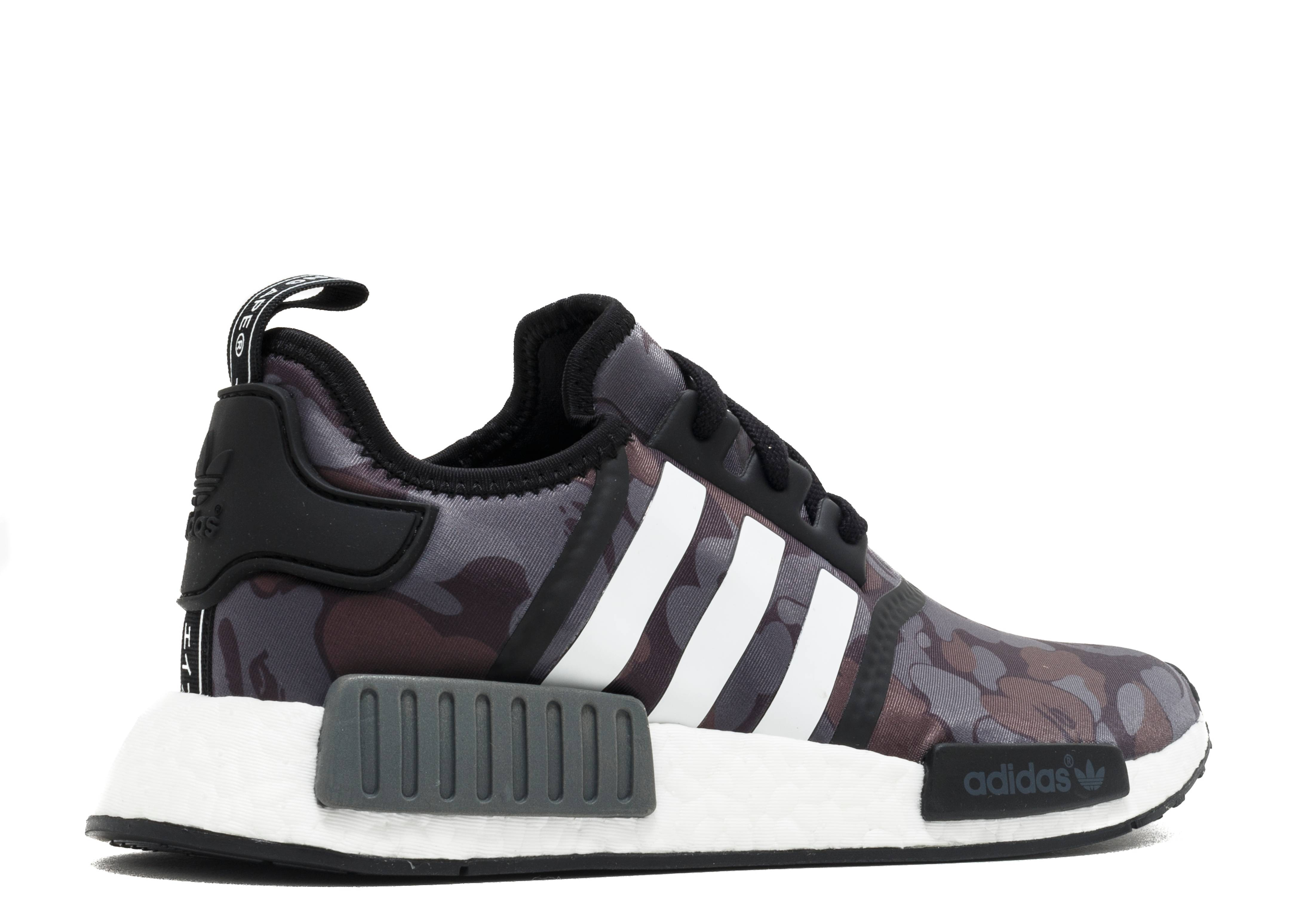 Cheap Adidas NMD R1 Bape Boost Sale Outlet 2017