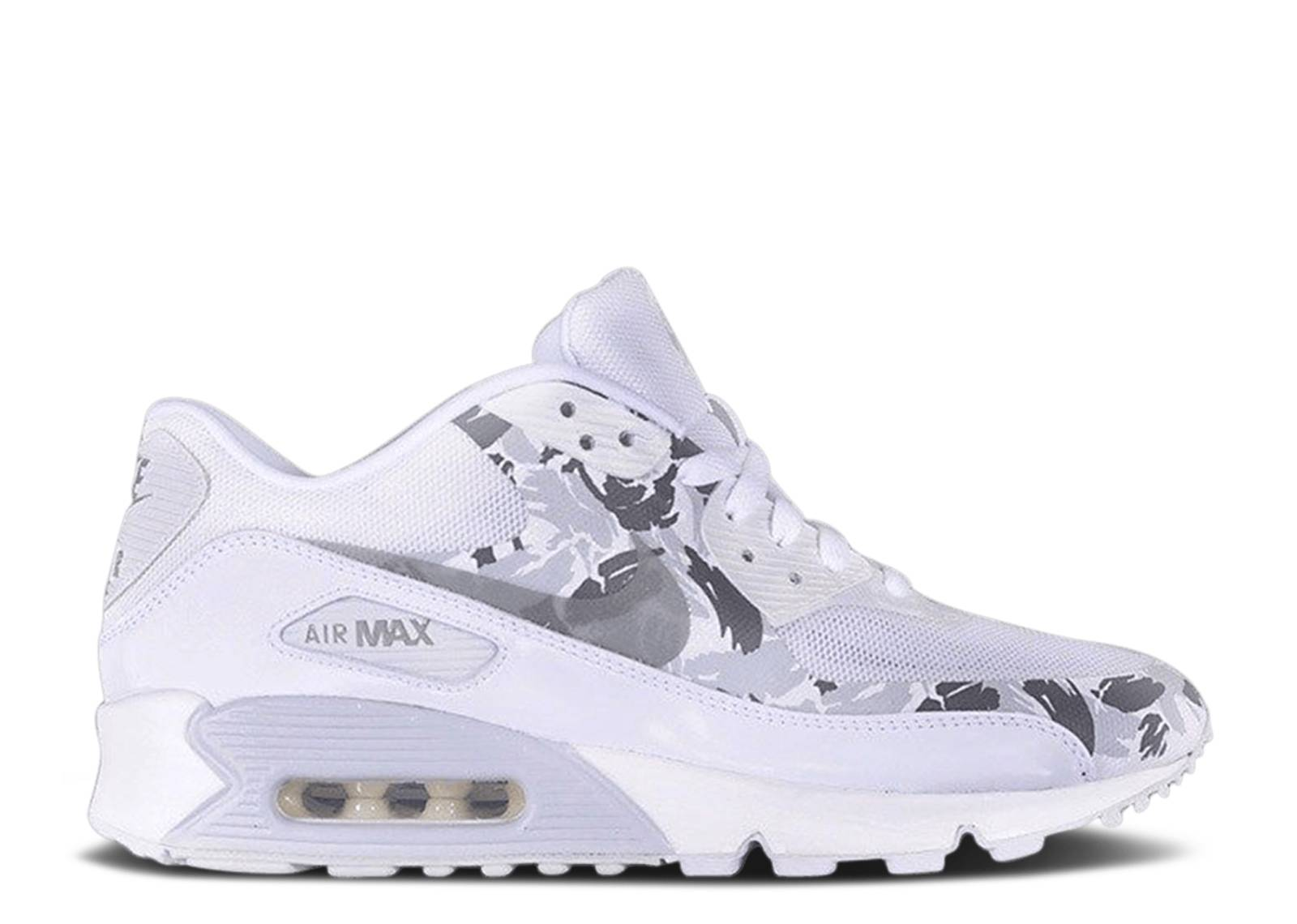 Popa Interconectar Te mejorarás  Air Max 90 Hyperfuse Premium 'Reflective Camo' - Nike - 532470 100 -  white/reflect silver-charcoal | Flight Club