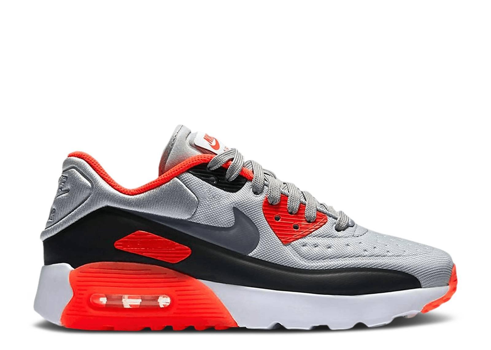 Restringir Derivación Recientemente  Air Max 90 Ultra SE GS 'Infrared' - Nike - 844599 004 - grey/black-red    Flight Club