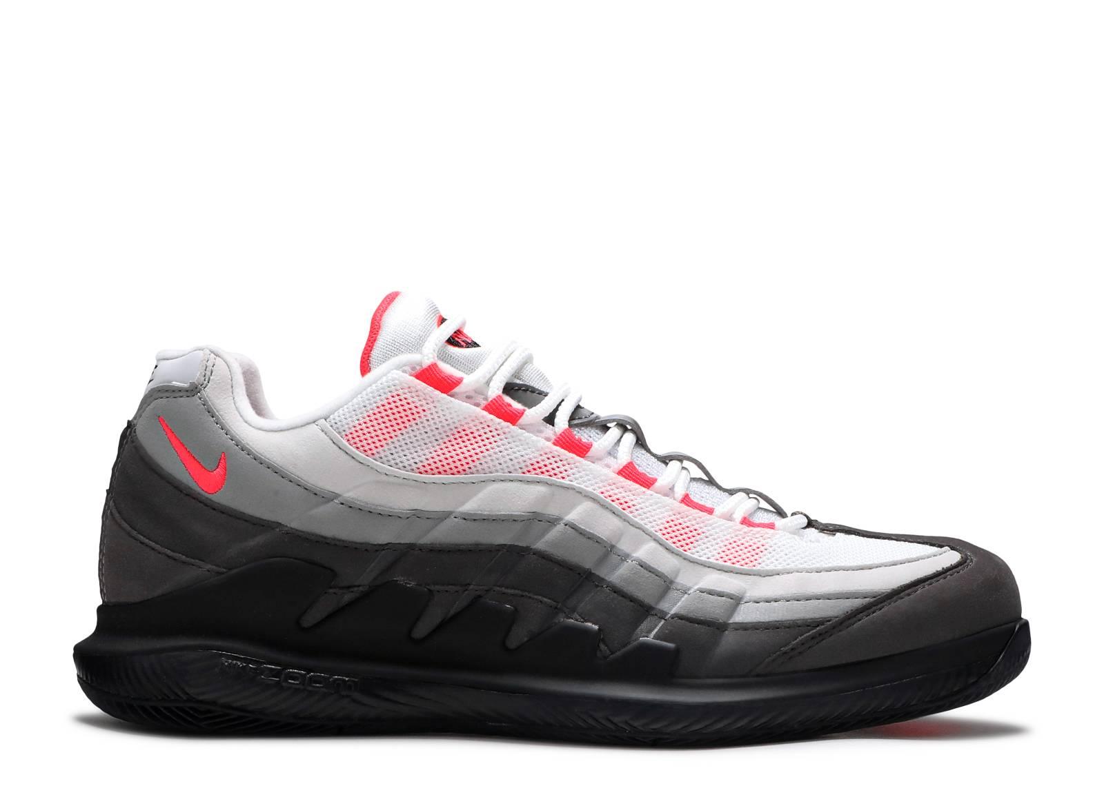 NikeCourt Zoom Vapor X Air Max 95 'Solar Red'