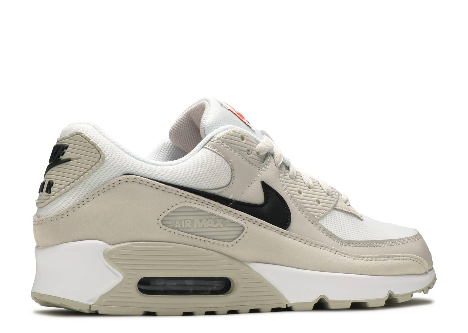 Air Max 90 'Light Bone' - Nike - DH4103 100 - white/black/light ...