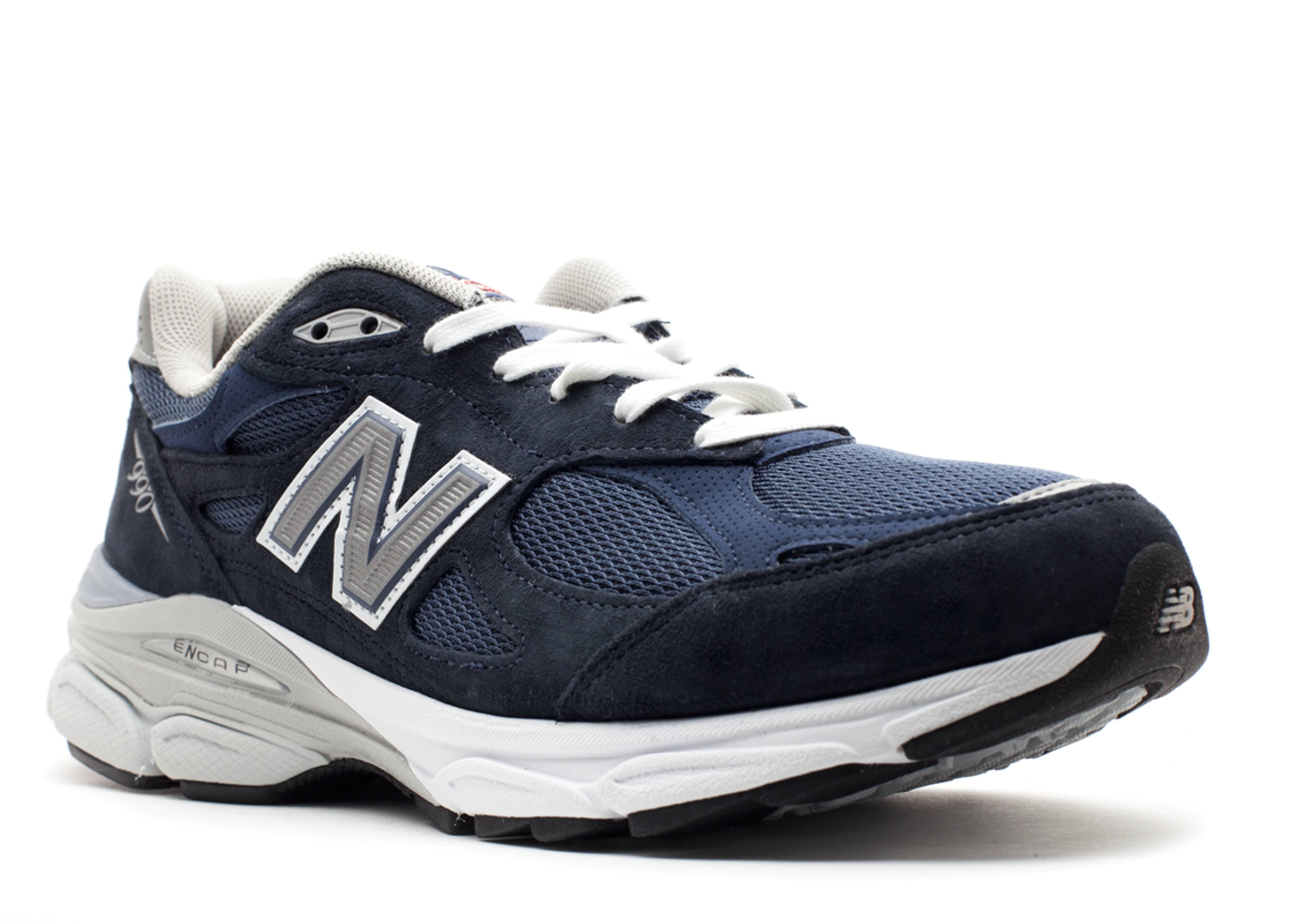 best sneakers 70e4a 97002 M990 - New Balance - m990nv3 - navy/grey/white | Flight Club