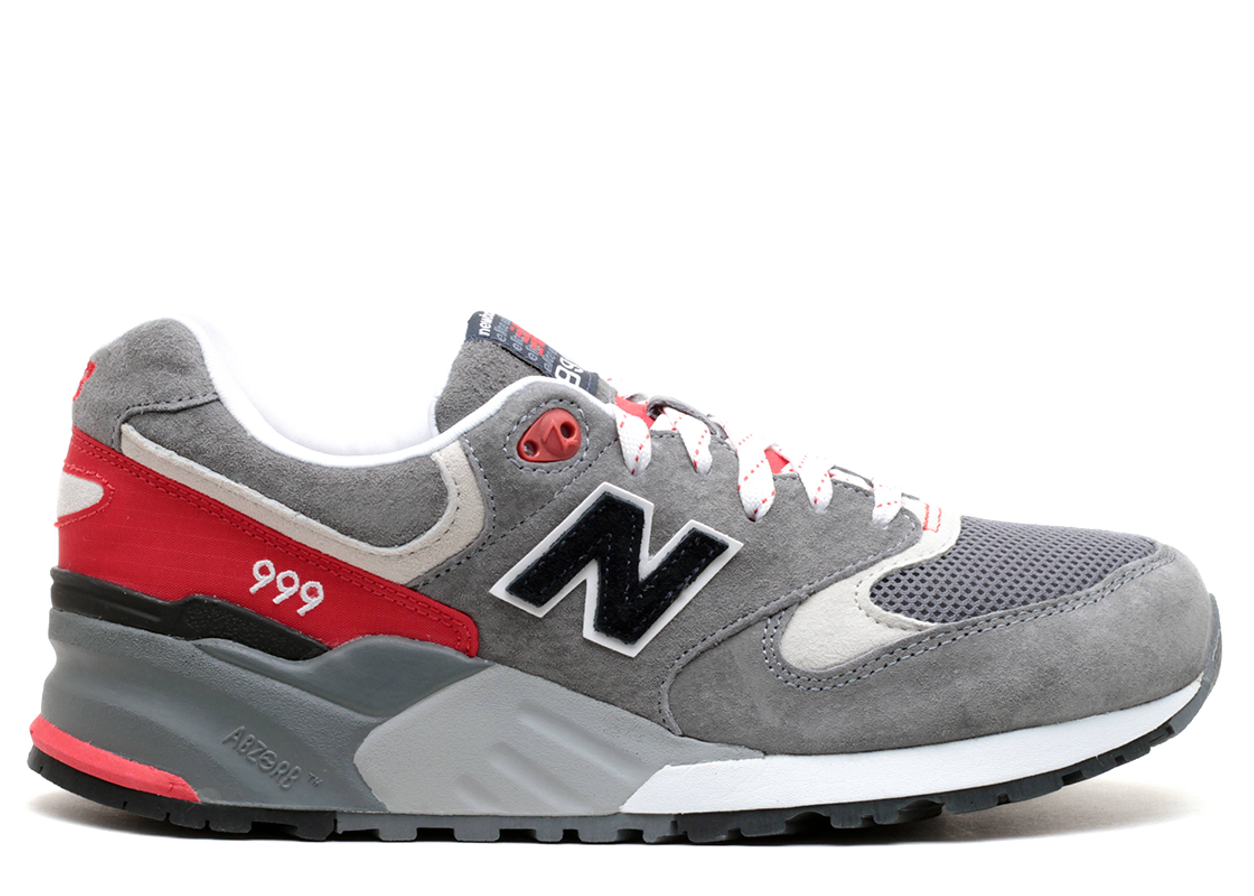 nouveau concept a3c87 45dd3 Ml999 - New Balance - ml999cra - grey/red | Flight Club