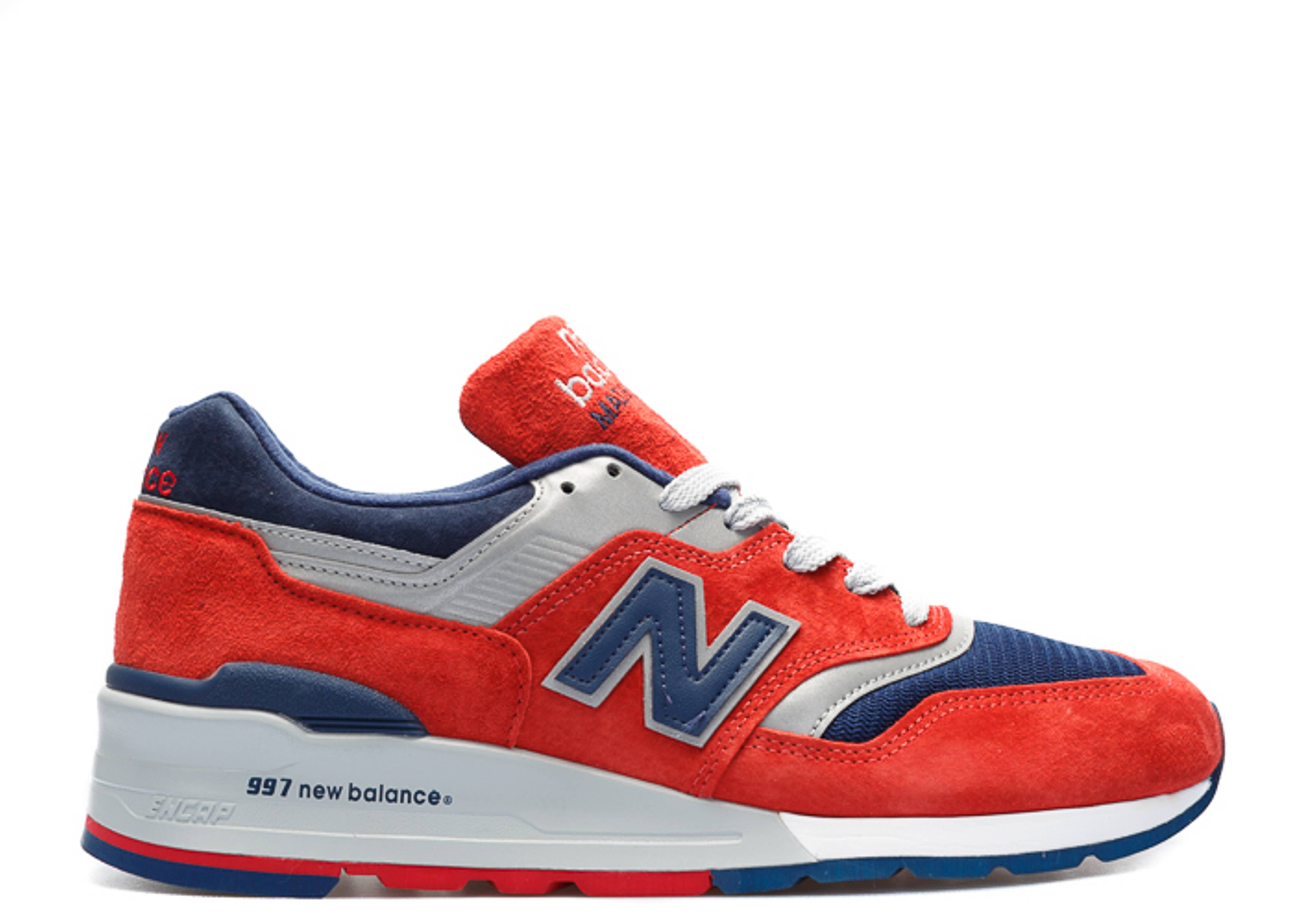 New Balance 997 Ski Connoisseur Red Navy | SneakerFiles