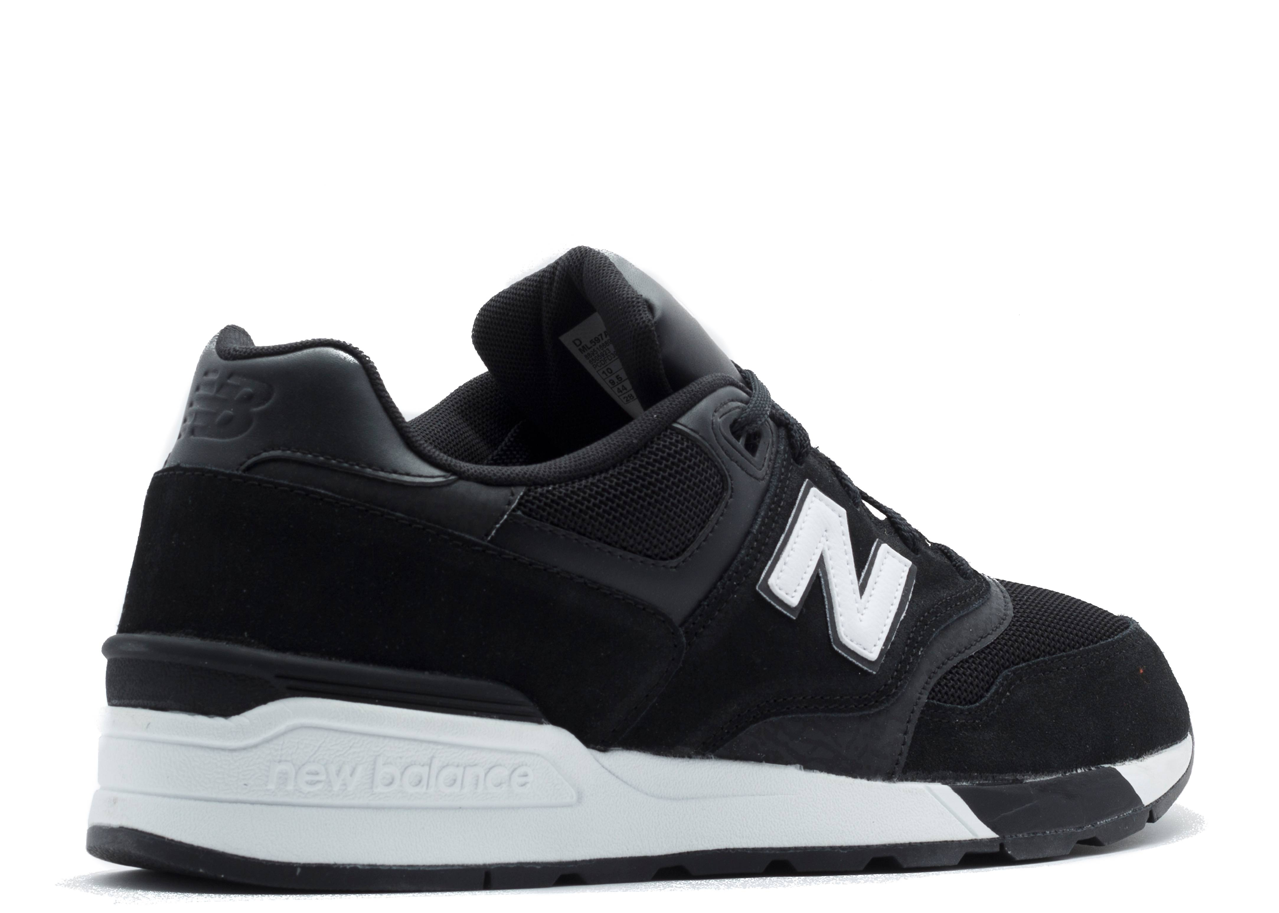 best sneakers 0e9fb 7a70e Ml597 - New Balance - ml597aac - black/white | Flight Club